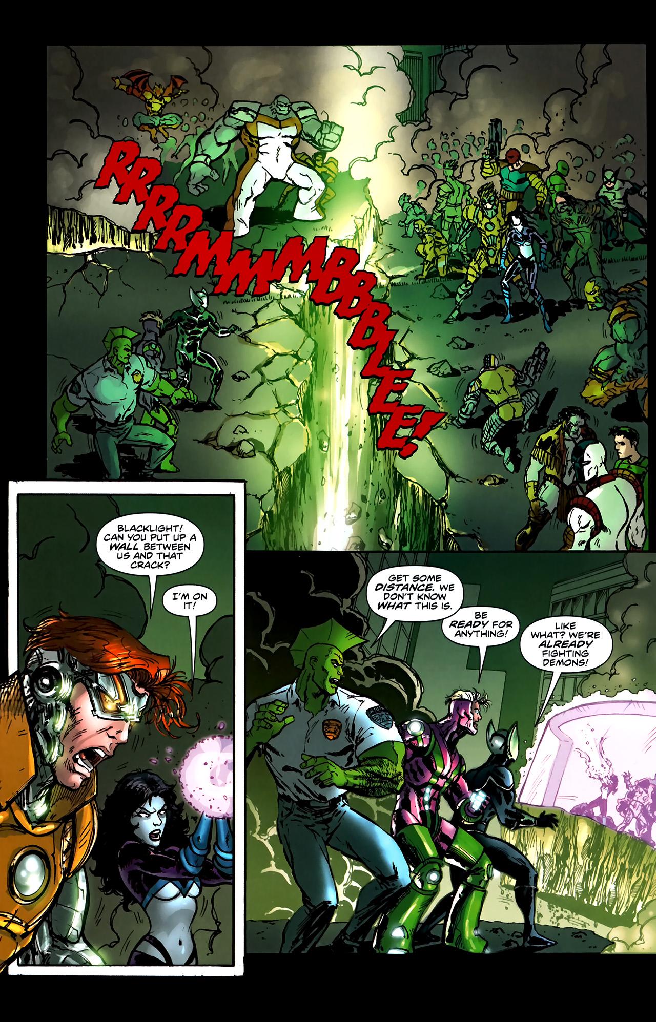 Read online ShadowHawk (2010) comic -  Issue #5 - 12