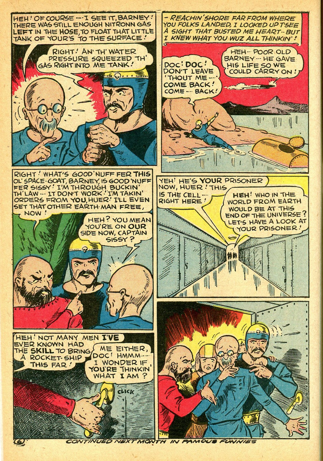Read online Famous Funnies comic -  Issue #108 - 8