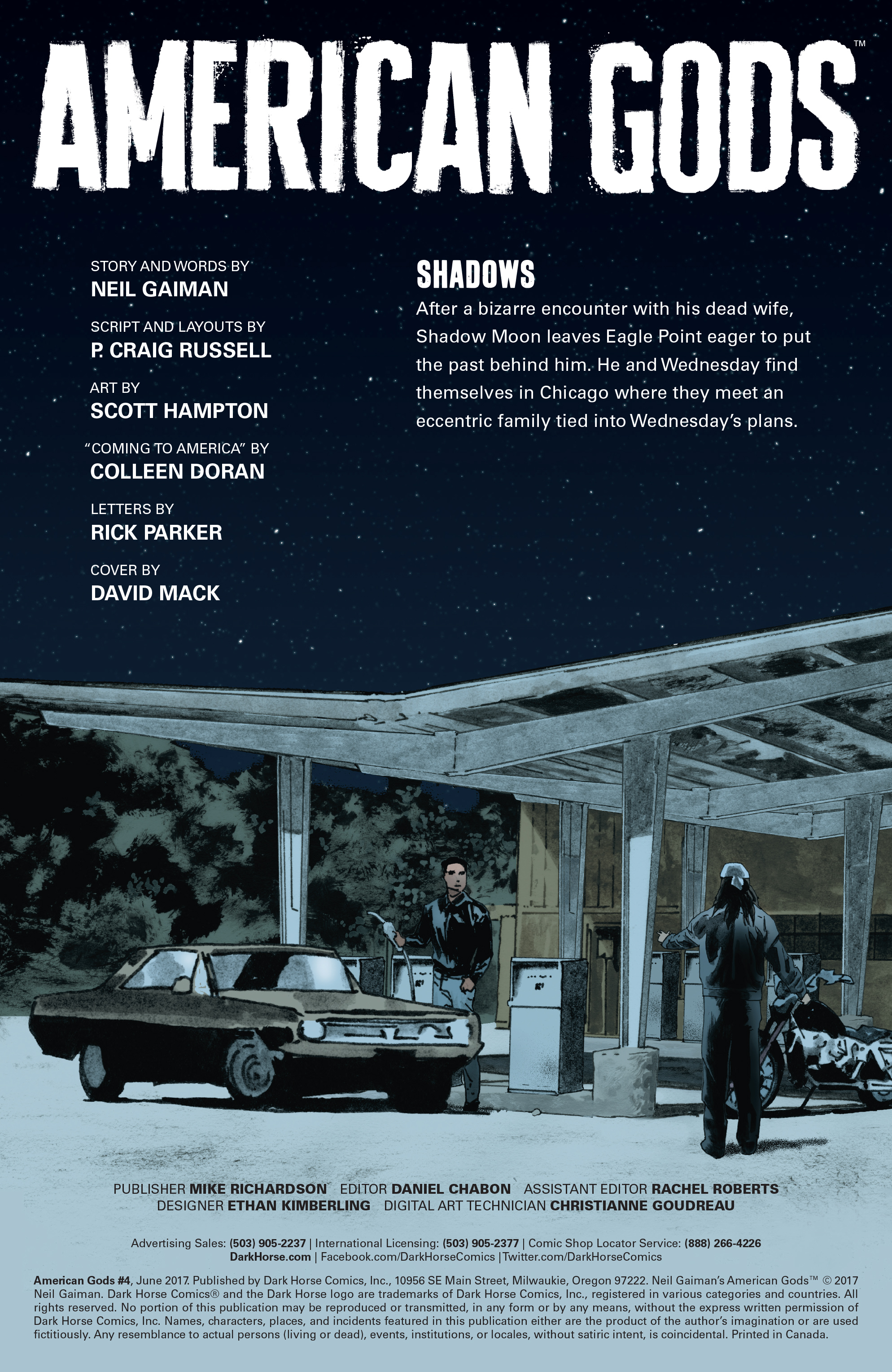 Read online American Gods: Shadows comic -  Issue #4 - 4