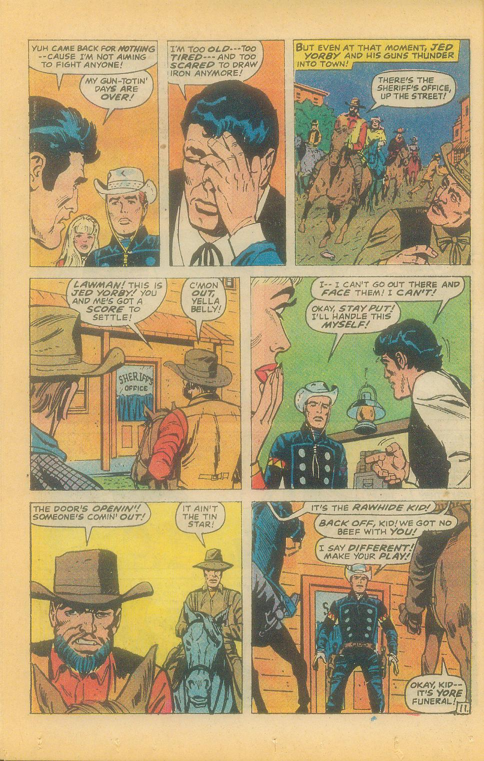 The Rawhide Kid (1955) issue 92 - Page 14