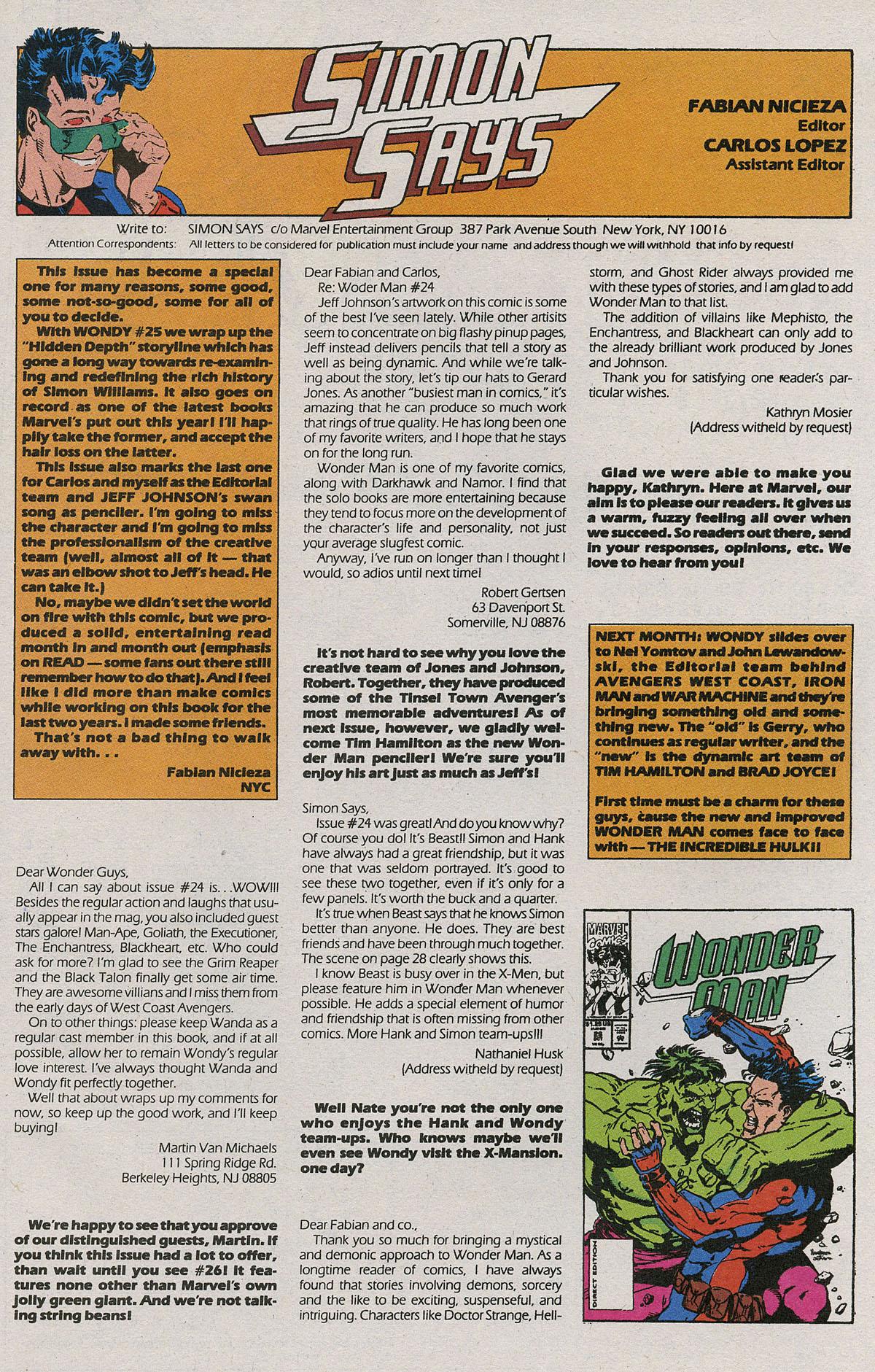 Read online Wonder Man (1991) comic -  Issue #25 - 39