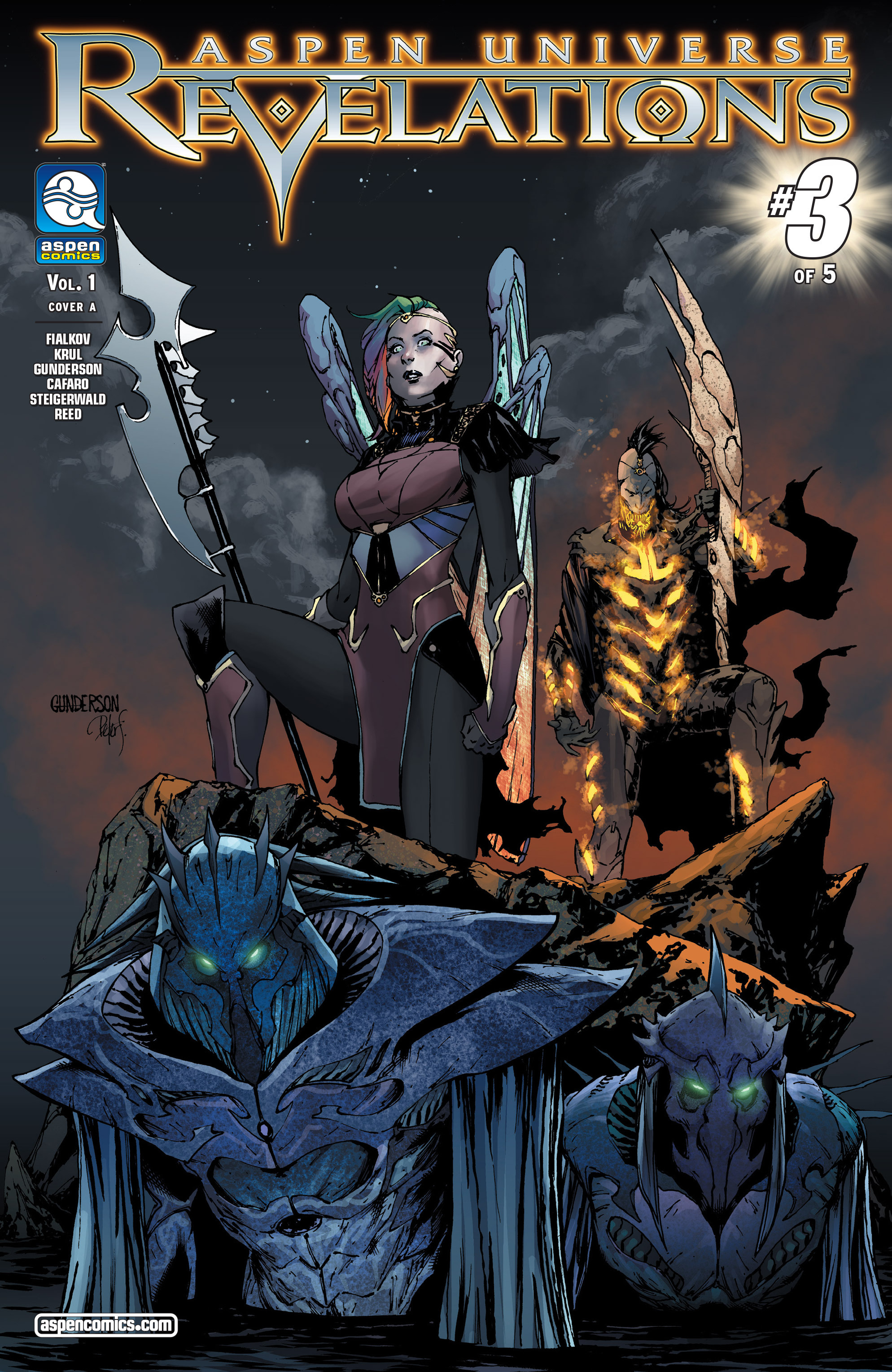 Read online Aspen Universe: Revelations comic -  Issue #3 - 1