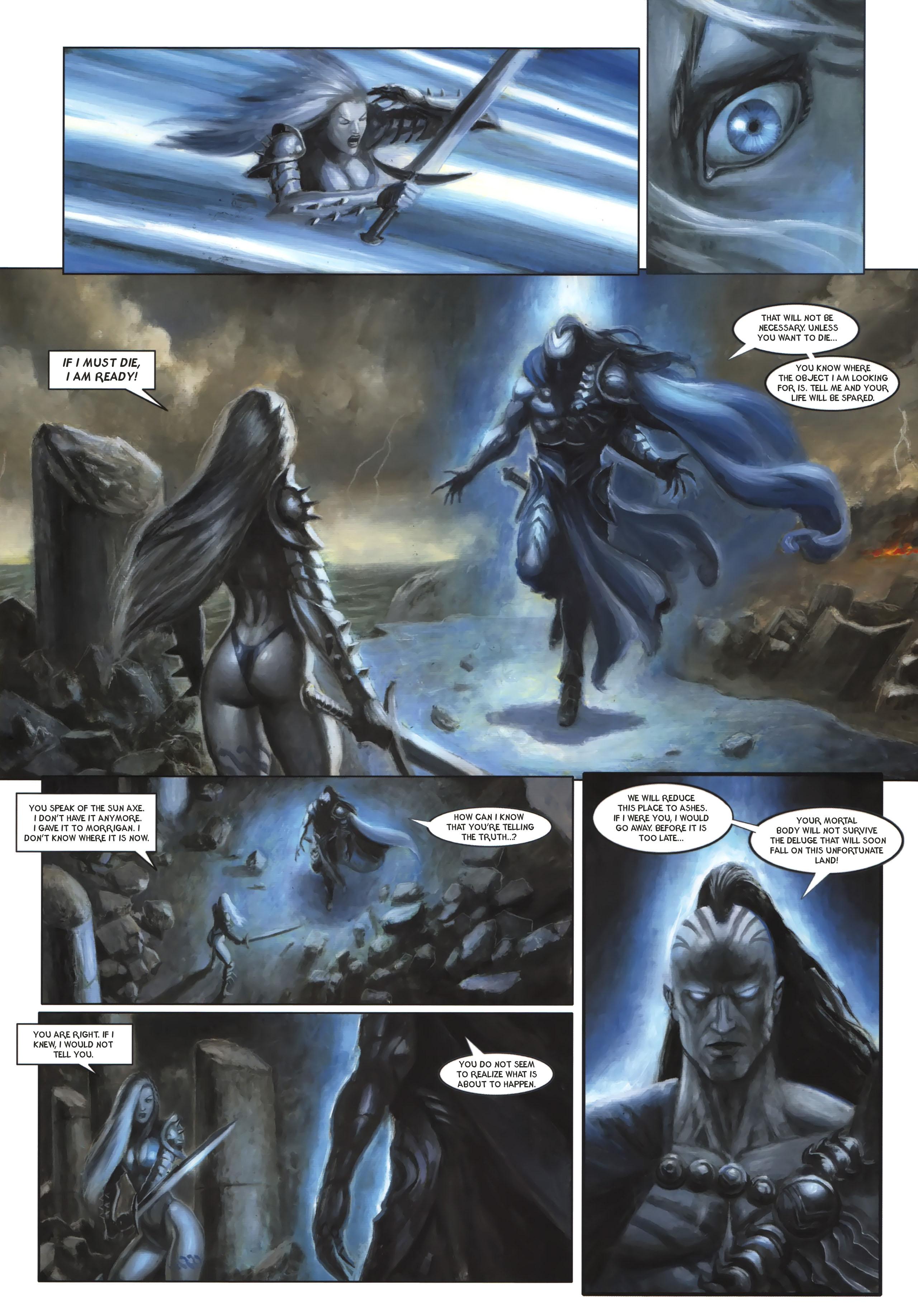 Read online Arawn comic -  Issue #6 - 11