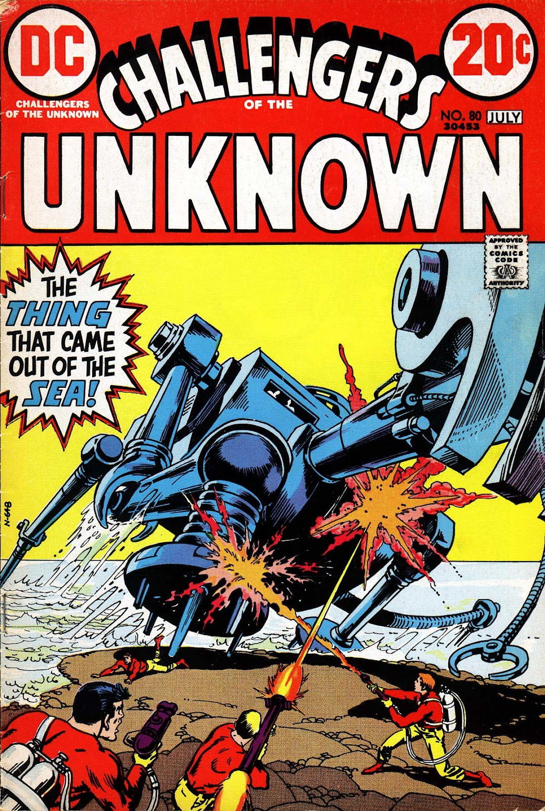 Challengers of the Unknown (1958) issue 80 - Page 1