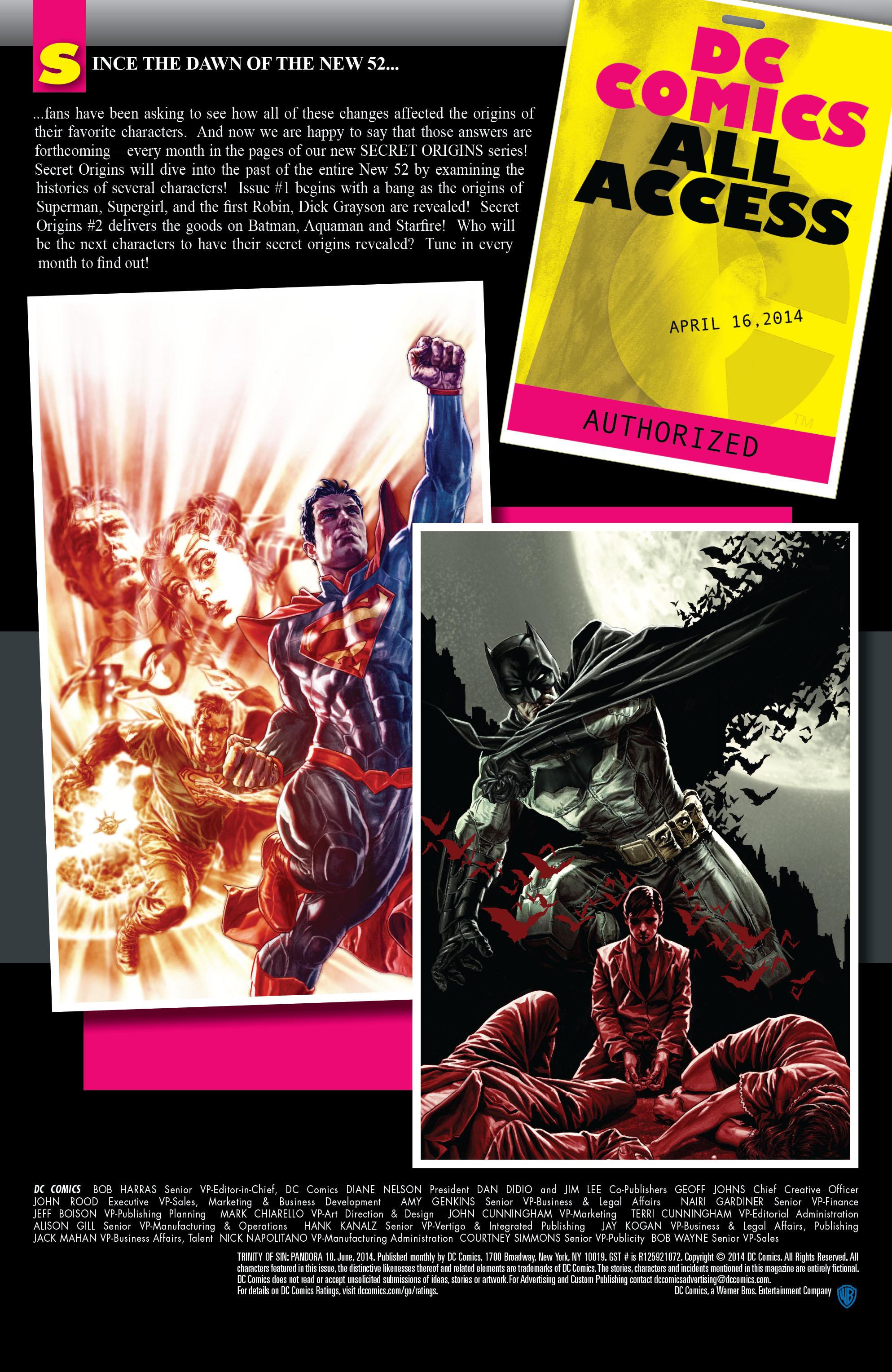 Read online Trinity of Sin: Pandora comic -  Issue #10 - 23
