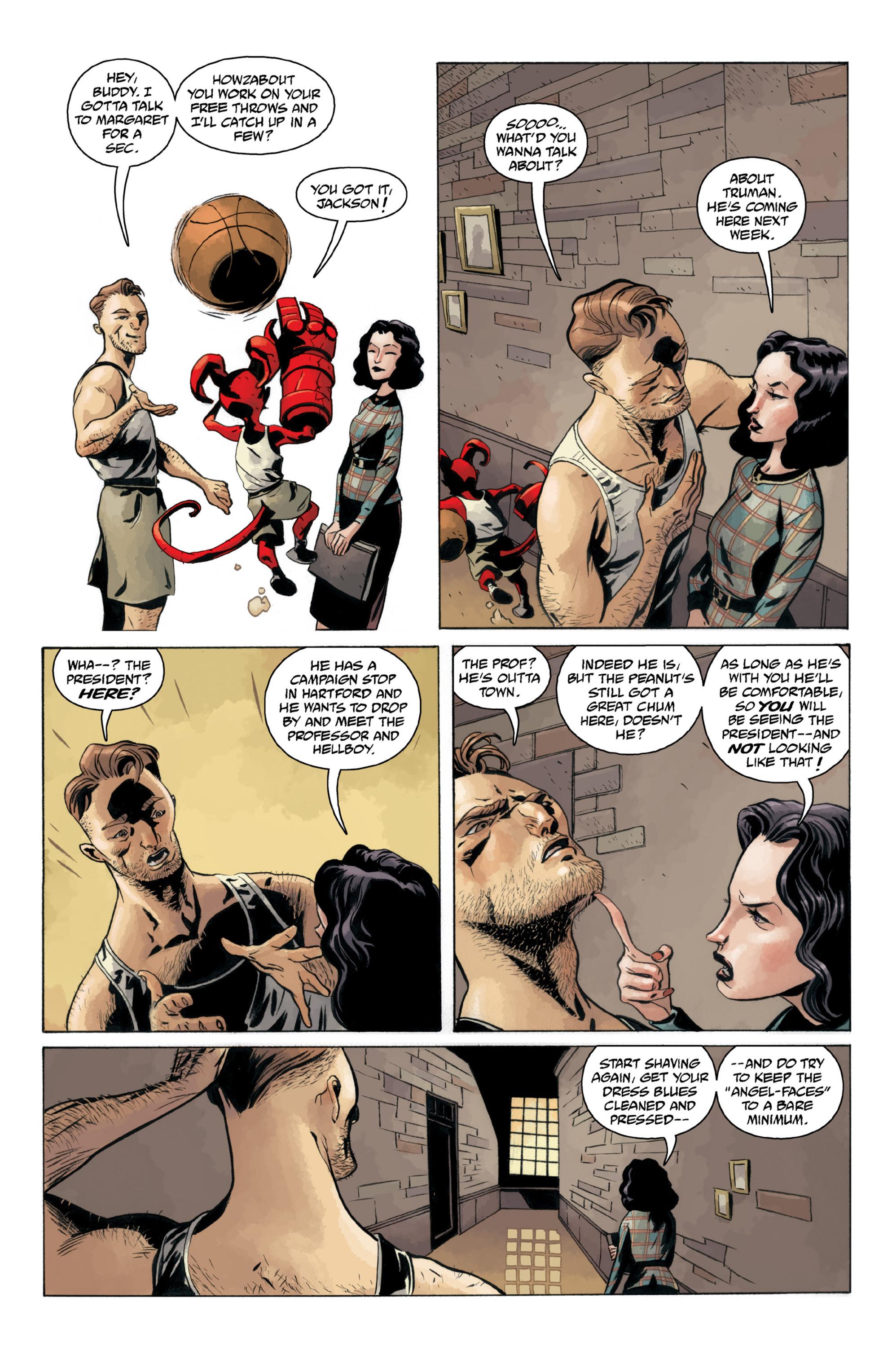 Read online B.P.R.D.: 1948 comic -  Issue # TPB - 44