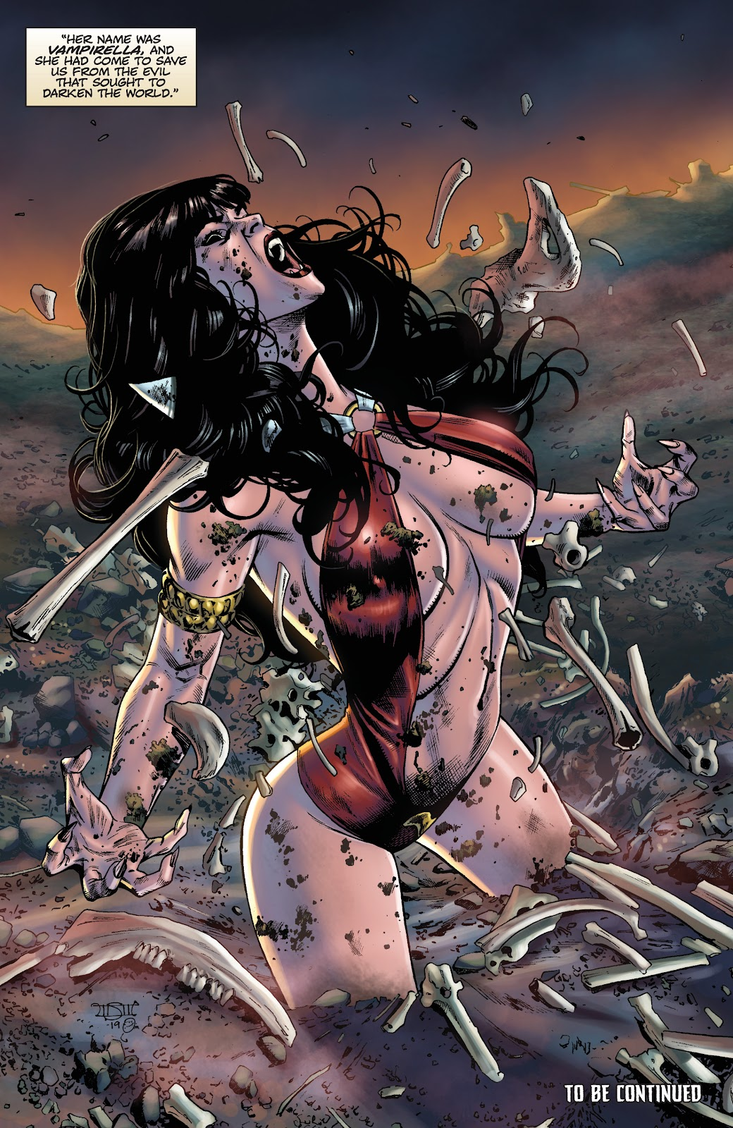 Read online Vengeance of Vampirella (2019) comic -  Issue #1 - 28