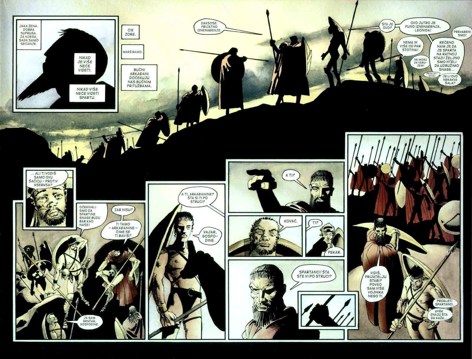 Read online 300 (2007) comic -  Issue # TPB - 28