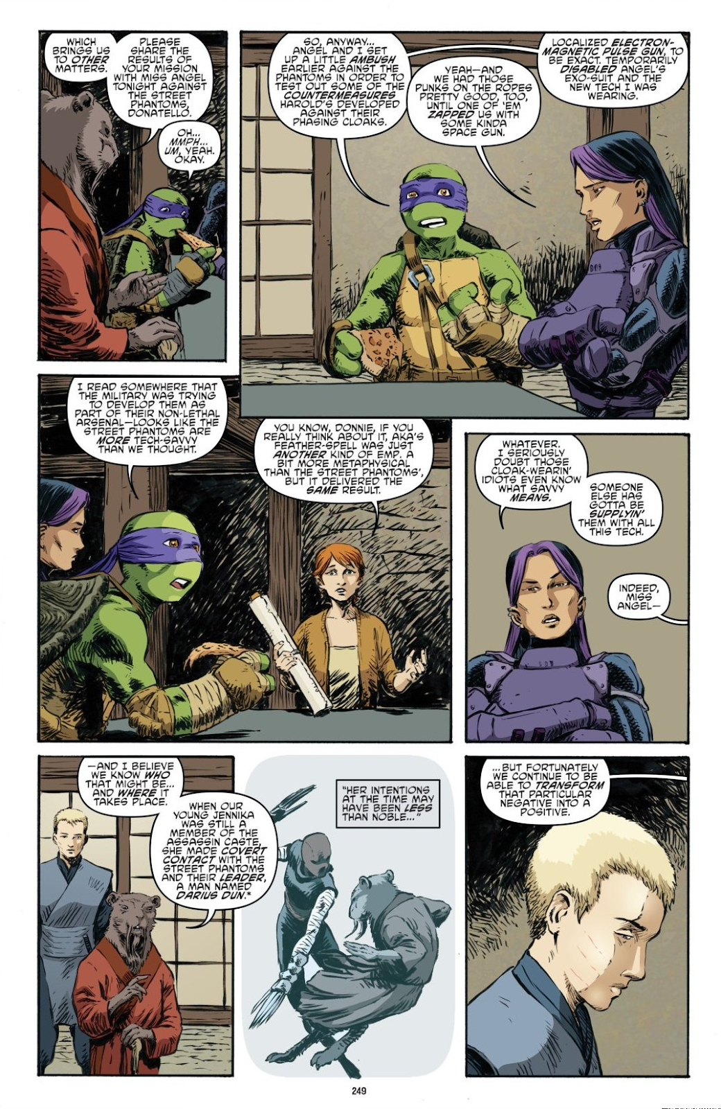 Read online Teenage Mutant Ninja Turtles: The IDW Collection comic -  Issue # TPB 7 (Part 3) - 41