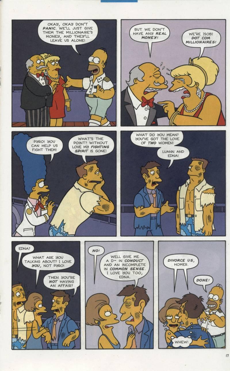 Read online Simpsons Comics comic -  Issue #66 - 18