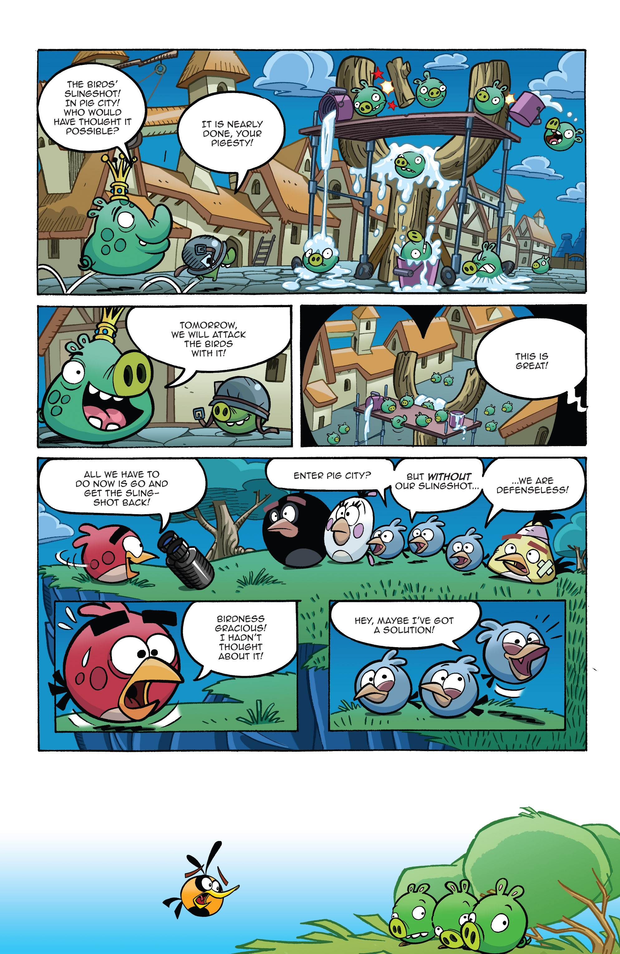 Read online Angry Birds Comics (2014) comic -  Issue #8 - 13
