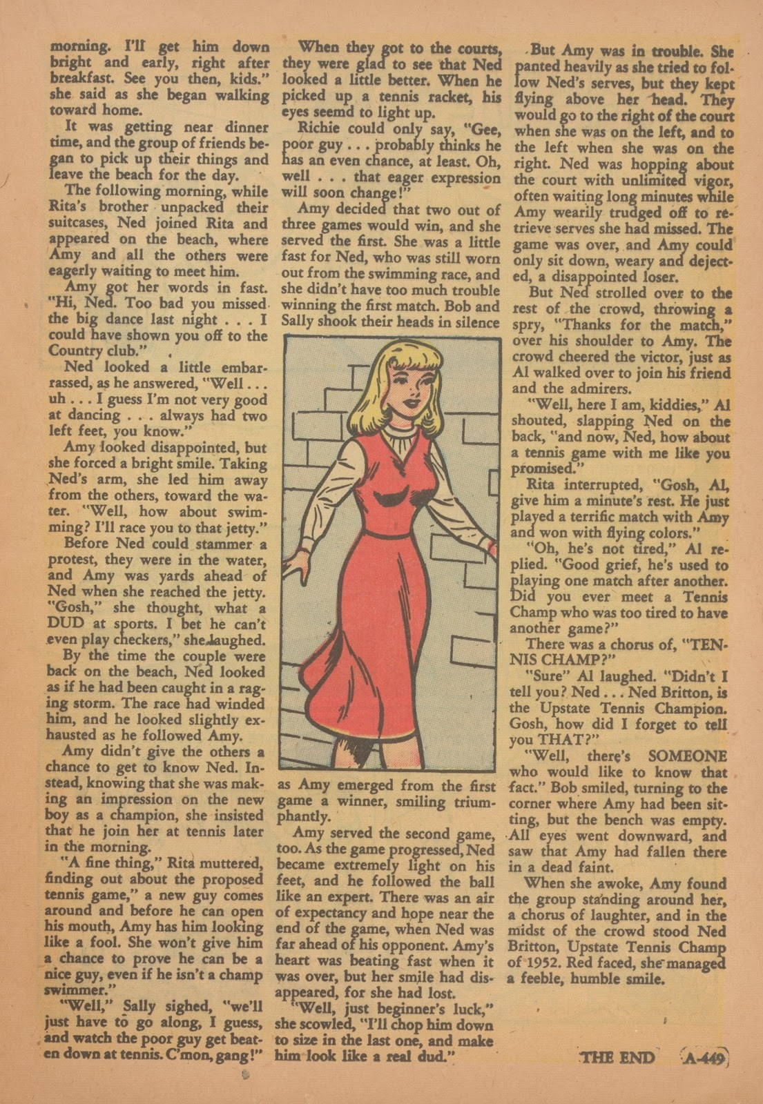 Read online Nellie The Nurse (1945) comic -  Issue #35 - 17