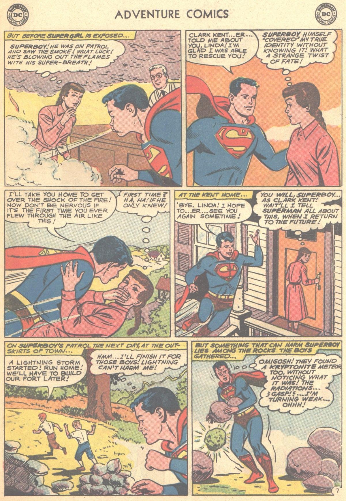Read online Adventure Comics (1938) comic -  Issue #278 - 9