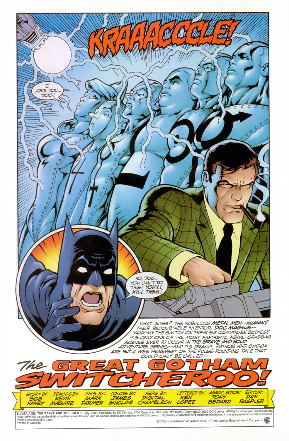 Read online Silver Age: The Brave and the Bold comic -  Issue # Full - 2