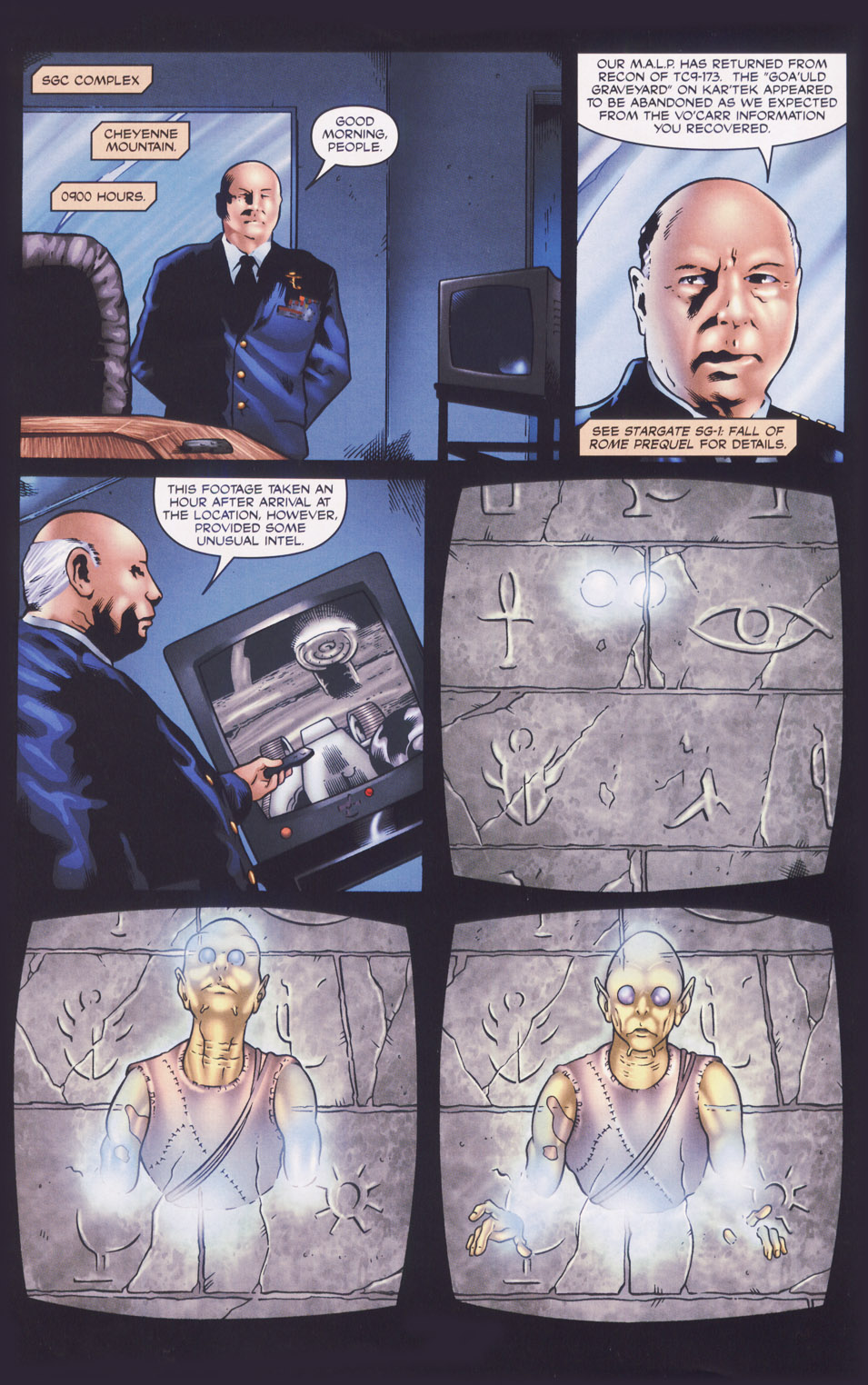 Read online Stargate SG-1: Fall of Rome comic -  Issue #1 - 11