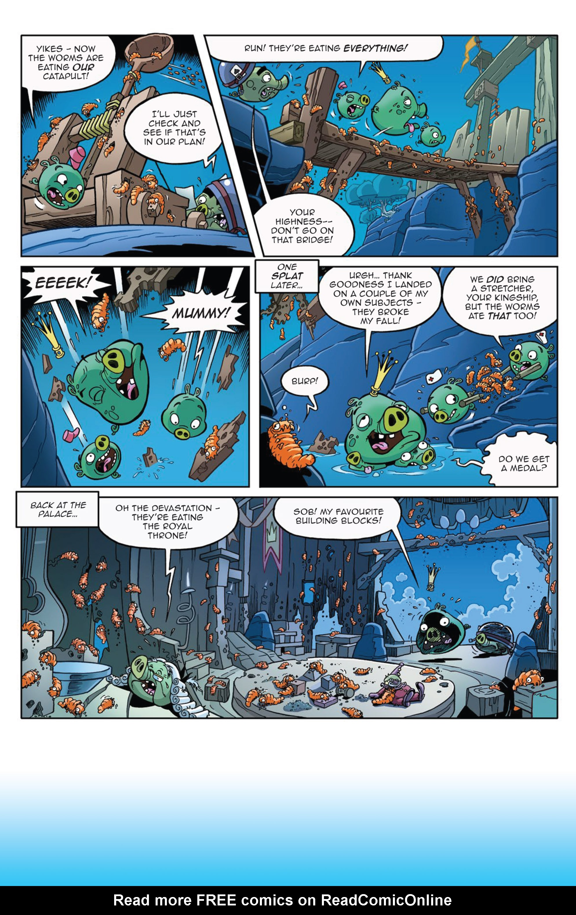 Read online Angry Birds Comics (2014) comic -  Issue #9 - 20