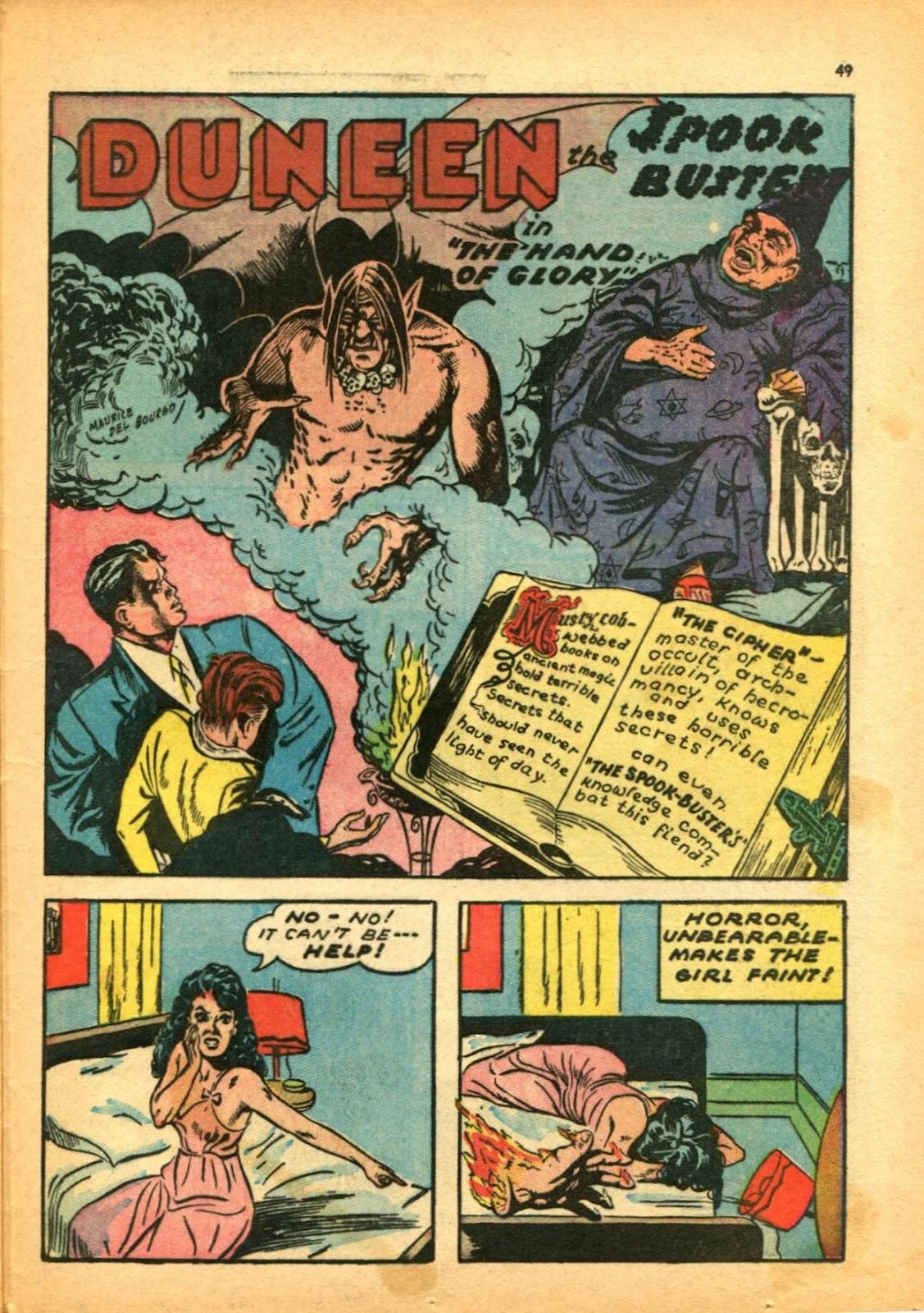 Read online Super-Magician Comics comic -  Issue #12 - 49