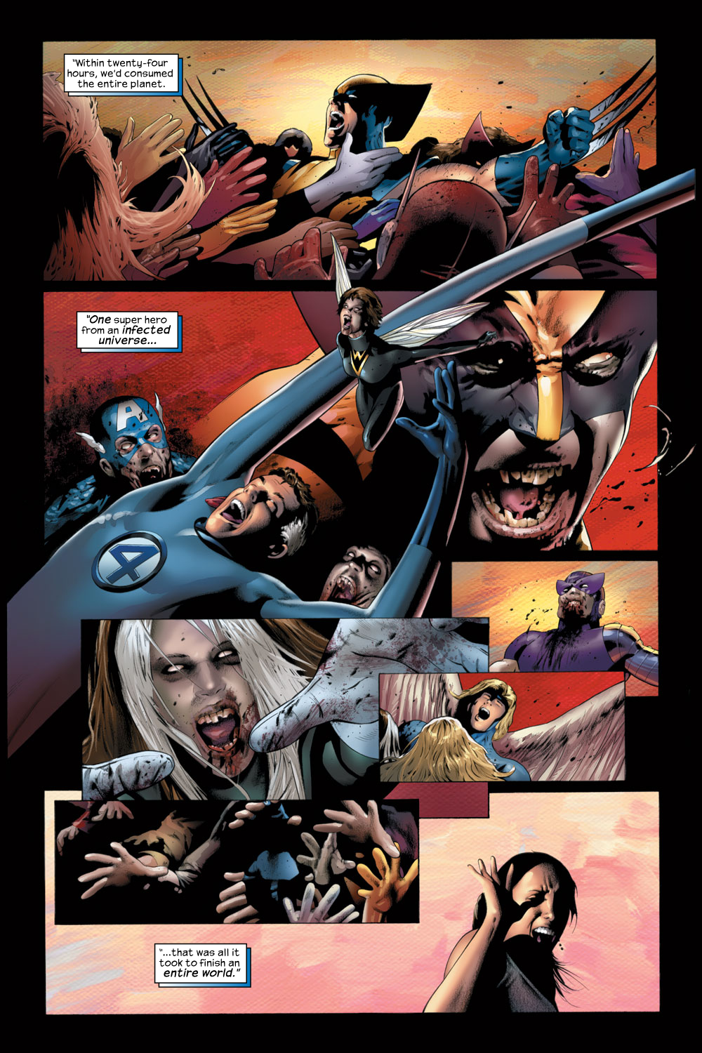 Read online Ultimate Fantastic Four (2004) comic -  Issue #22 - 4