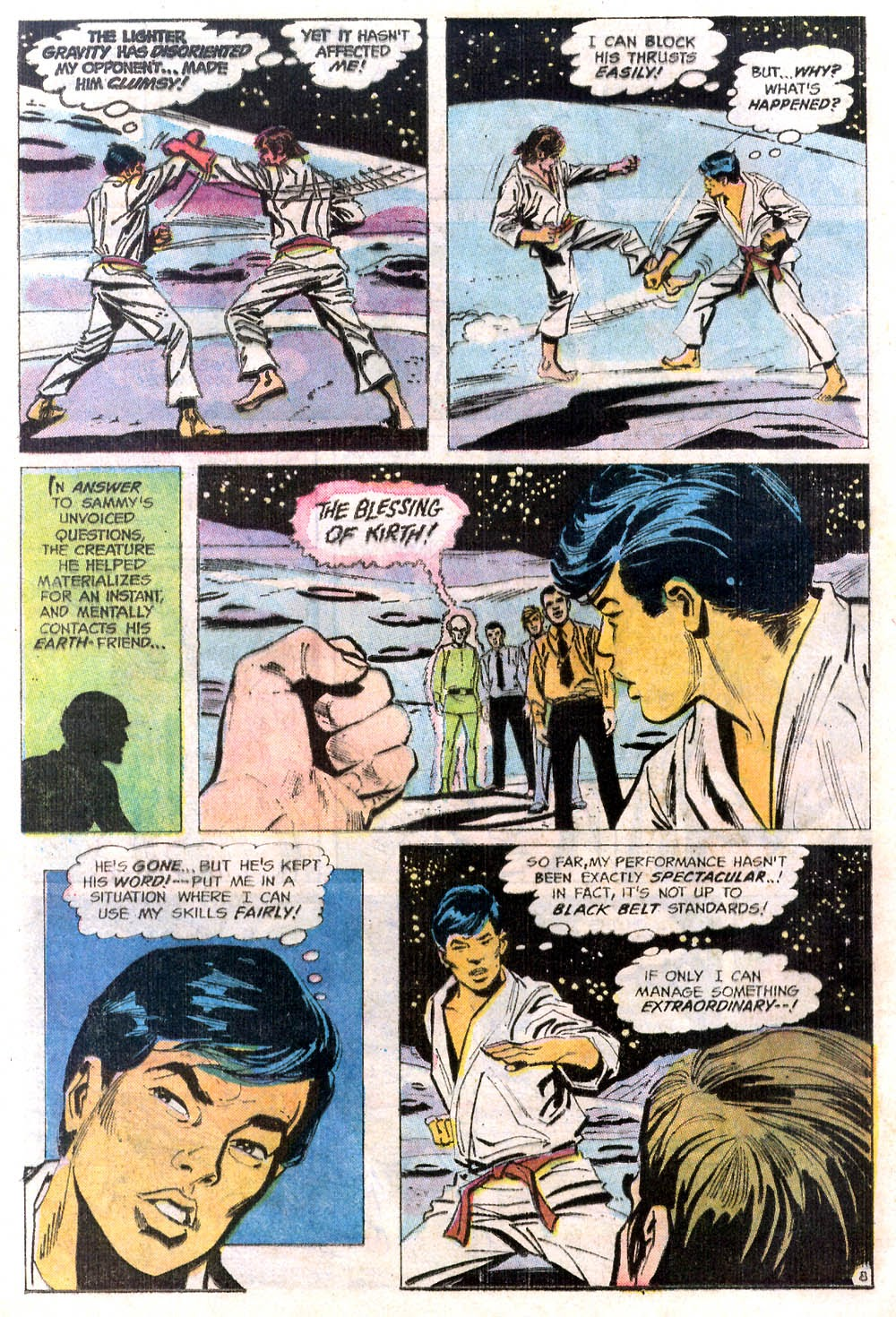 Read online Strange Sports Stories (1973) comic -  Issue #2 - 9