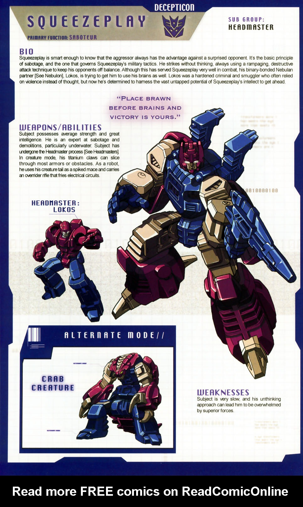 Read online Transformers: More than Meets the Eye comic -  Issue #6 - 42