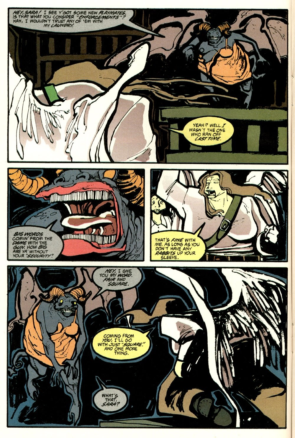 Read online Ted McKeever's Metropol comic -  Issue #8 - 14