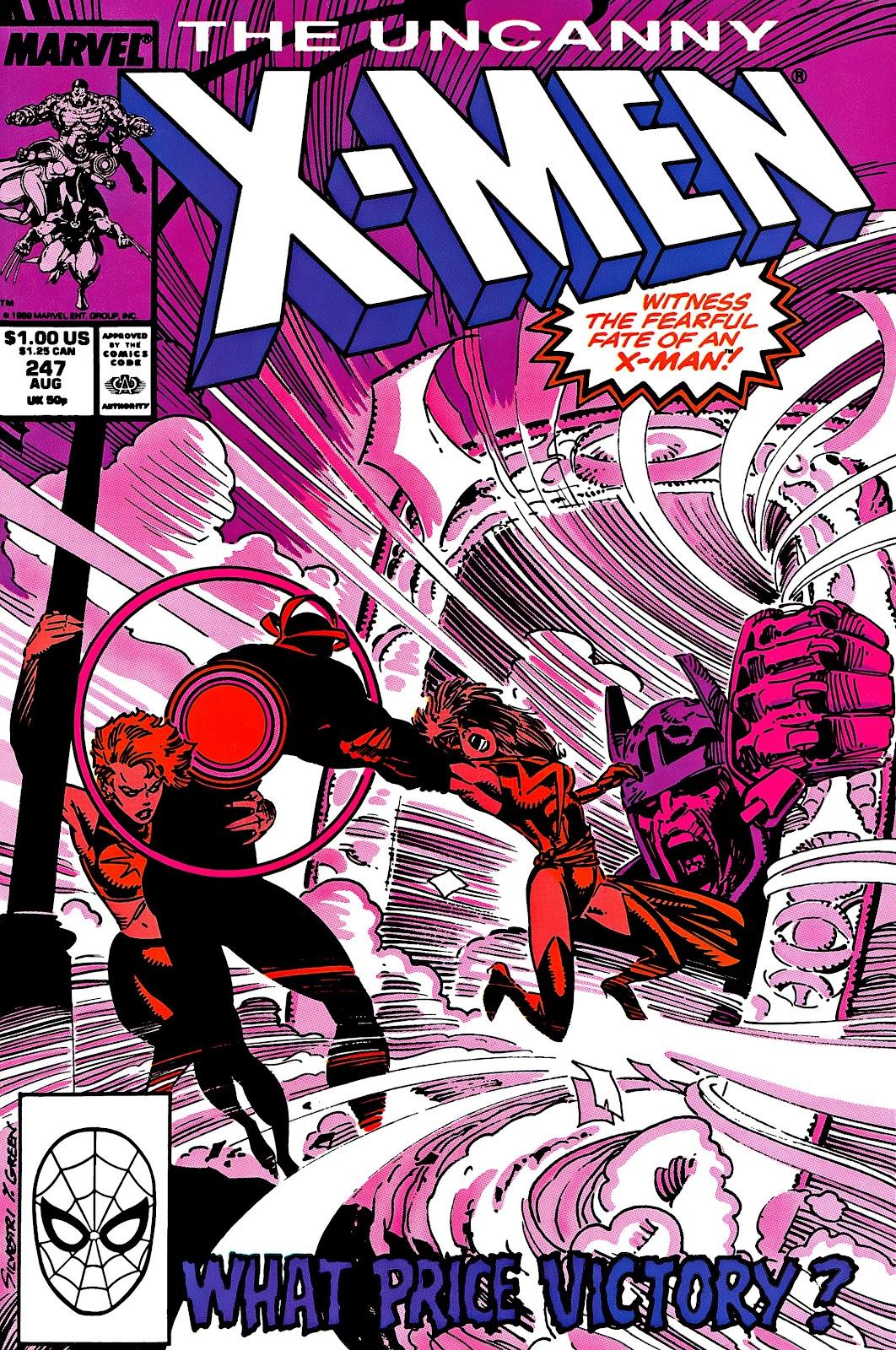 Uncanny X-Men (1963) issue 247 - Page 1