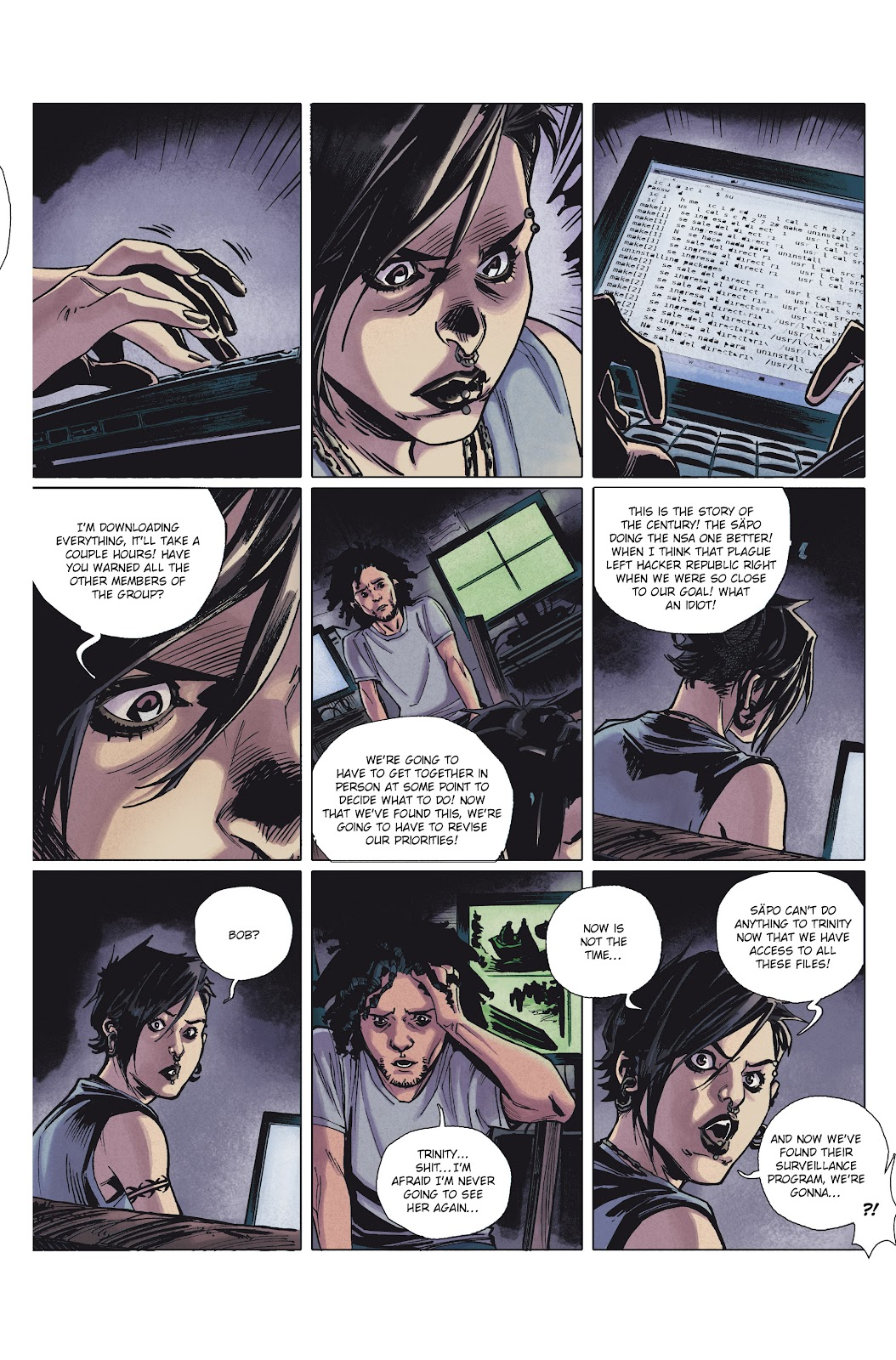 Read online Millennium: The Girl Who Danced With Death comic -  Issue #1 - 36