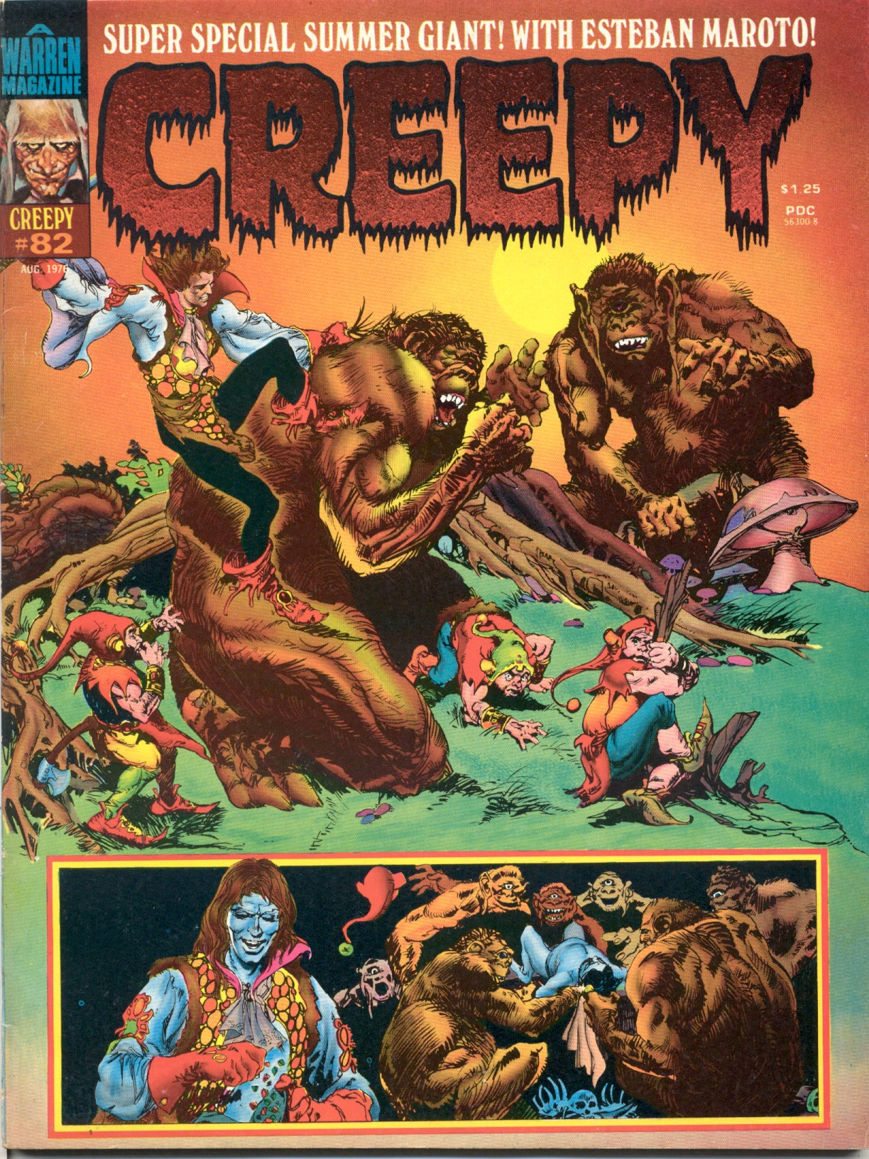 Creepy (1964) 82 Page 1