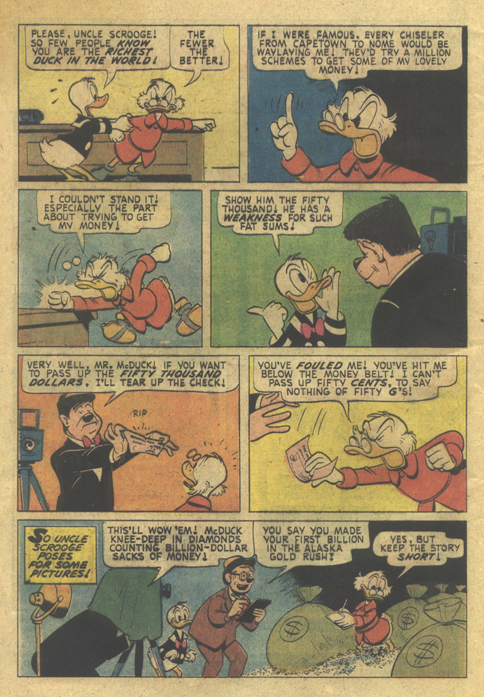 Read online Uncle Scrooge (1953) comic -  Issue #124 - 4
