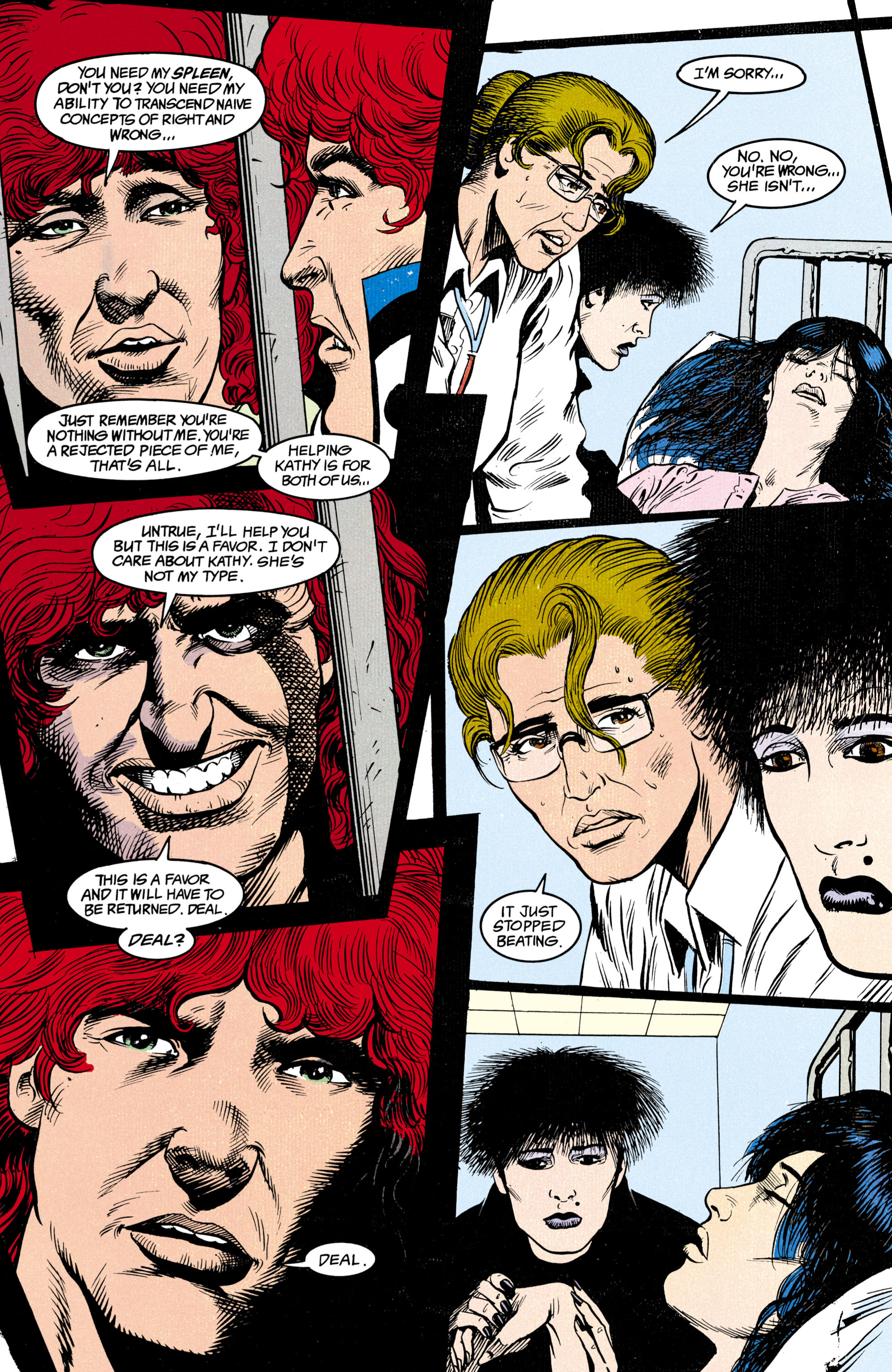 Read online Shade, the Changing Man comic -  Issue #14 - 14