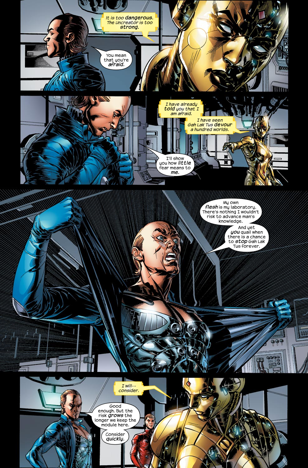 Read online Ultimate Vision comic -  Issue #1 - 16