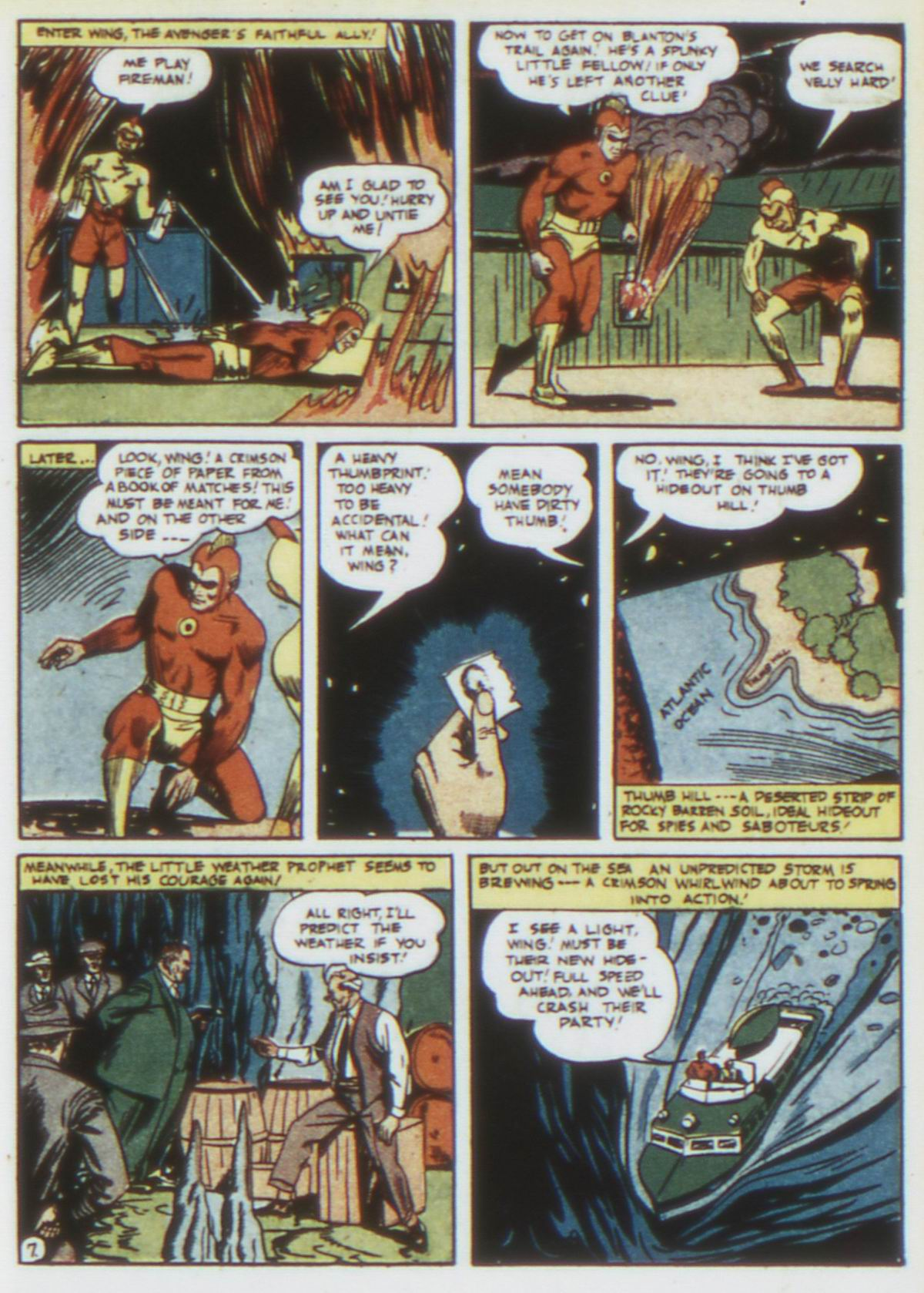 Read online Detective Comics (1937) comic -  Issue #75 - 37