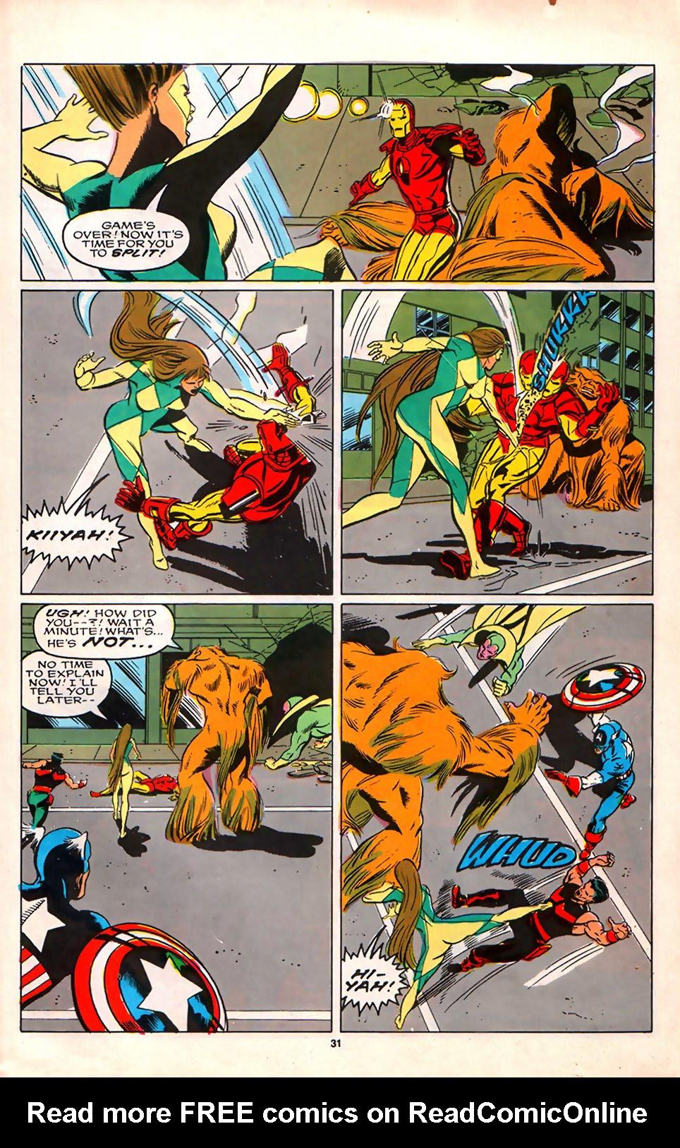 Read online Alpha Flight (1983) comic -  Issue #75 - 28