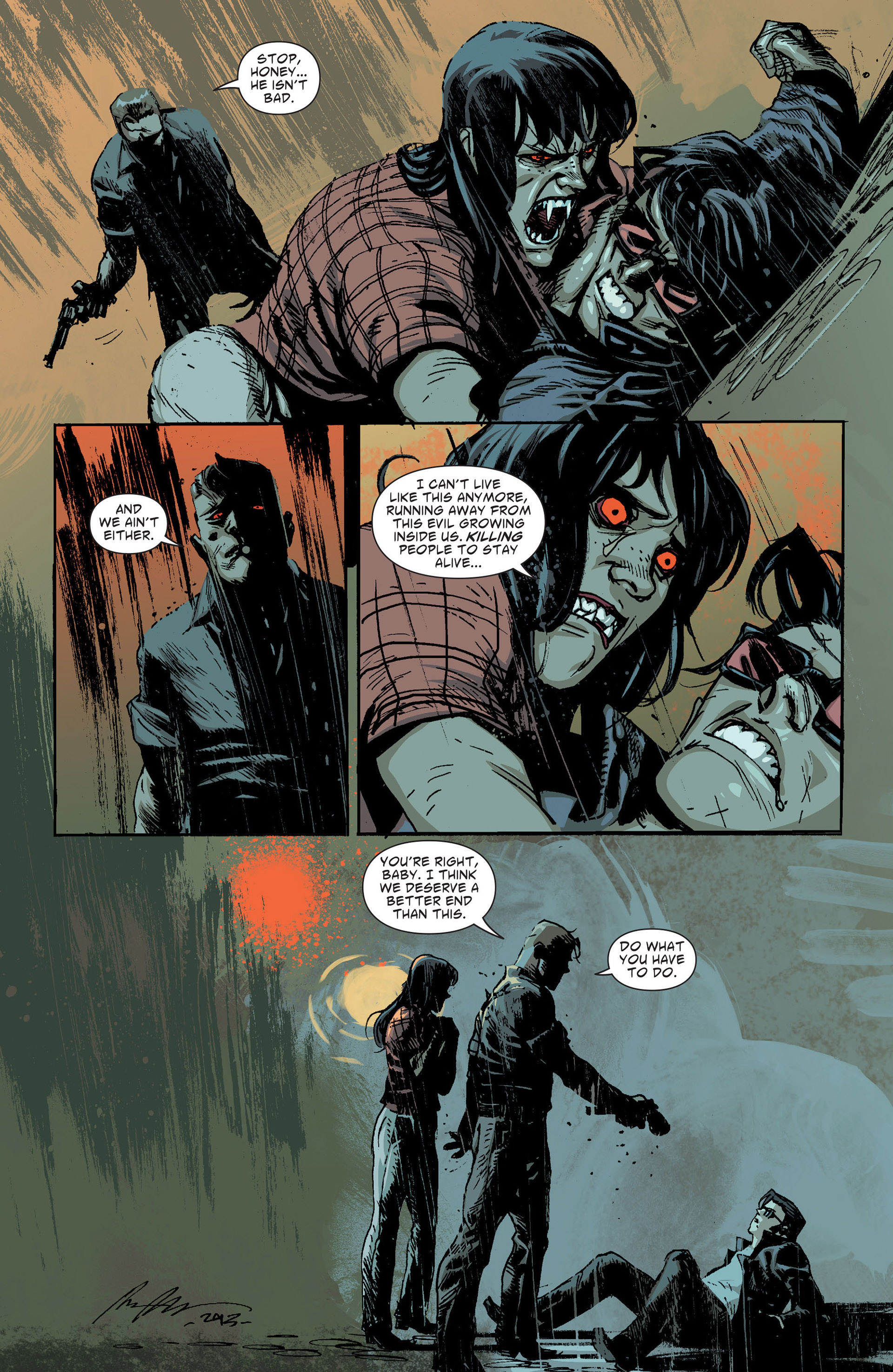 Read online American Vampire: The Long Road To Hell comic -  Issue # Full - 46