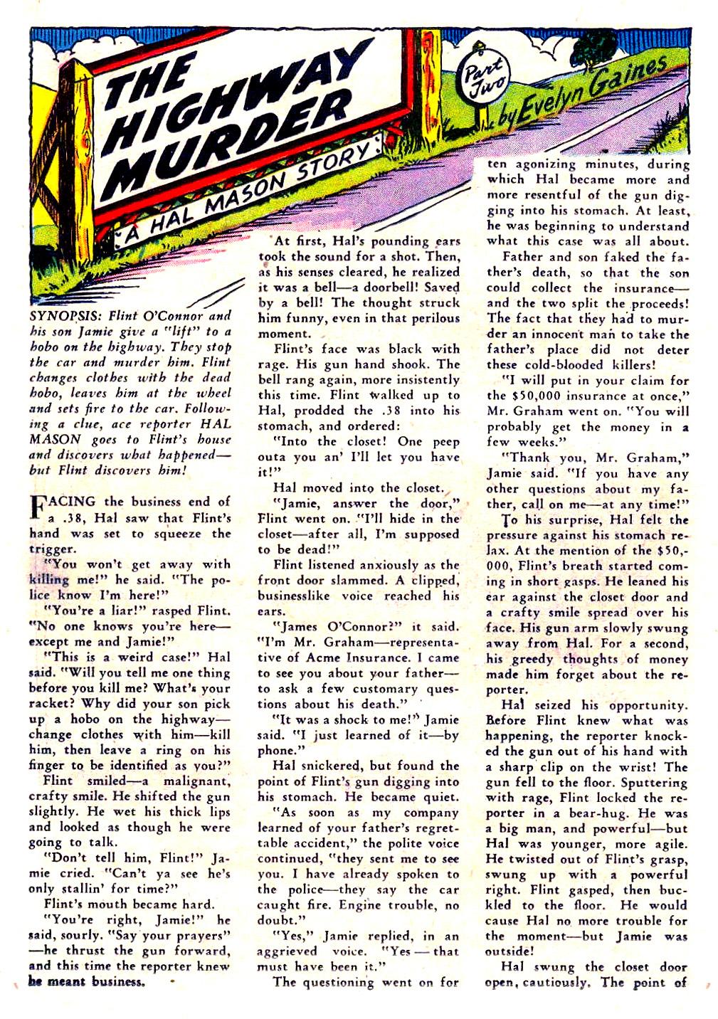 Read online Sensation (Mystery) Comics comic -  Issue #29 - 40