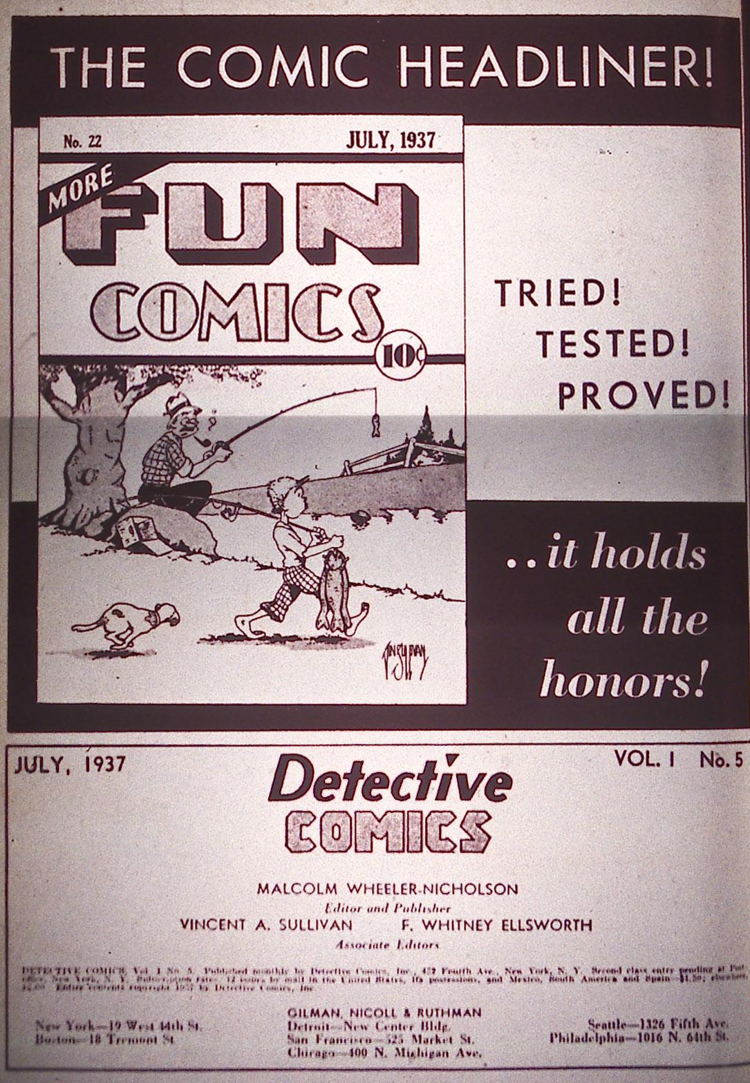 Read online Detective Comics (1937) comic -  Issue #5 - 2