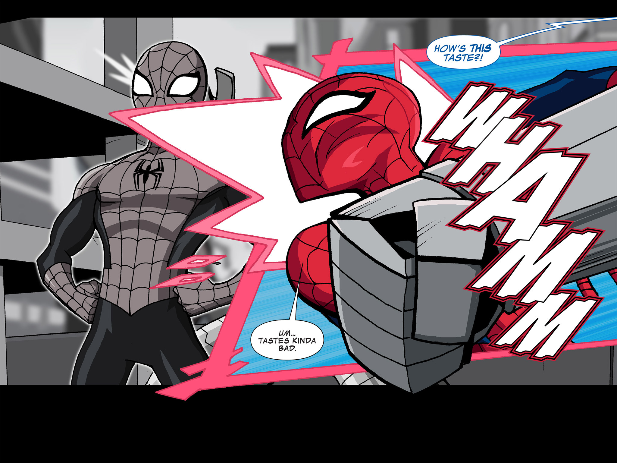 Read online Ultimate Spider-Man (Infinite Comics) (2015) comic -  Issue #4 - 14
