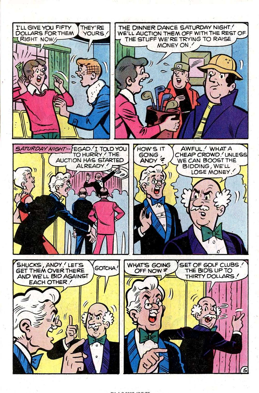 Read online Archie (1960) comic -  Issue #261 - 7