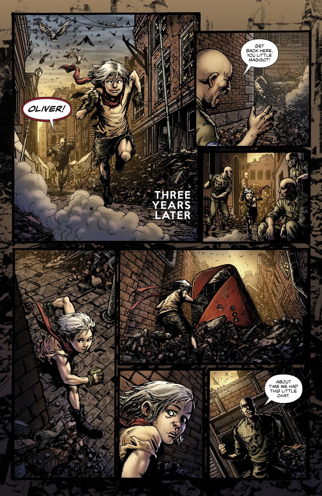 Read online Oliver comic -  Issue #1 - 13