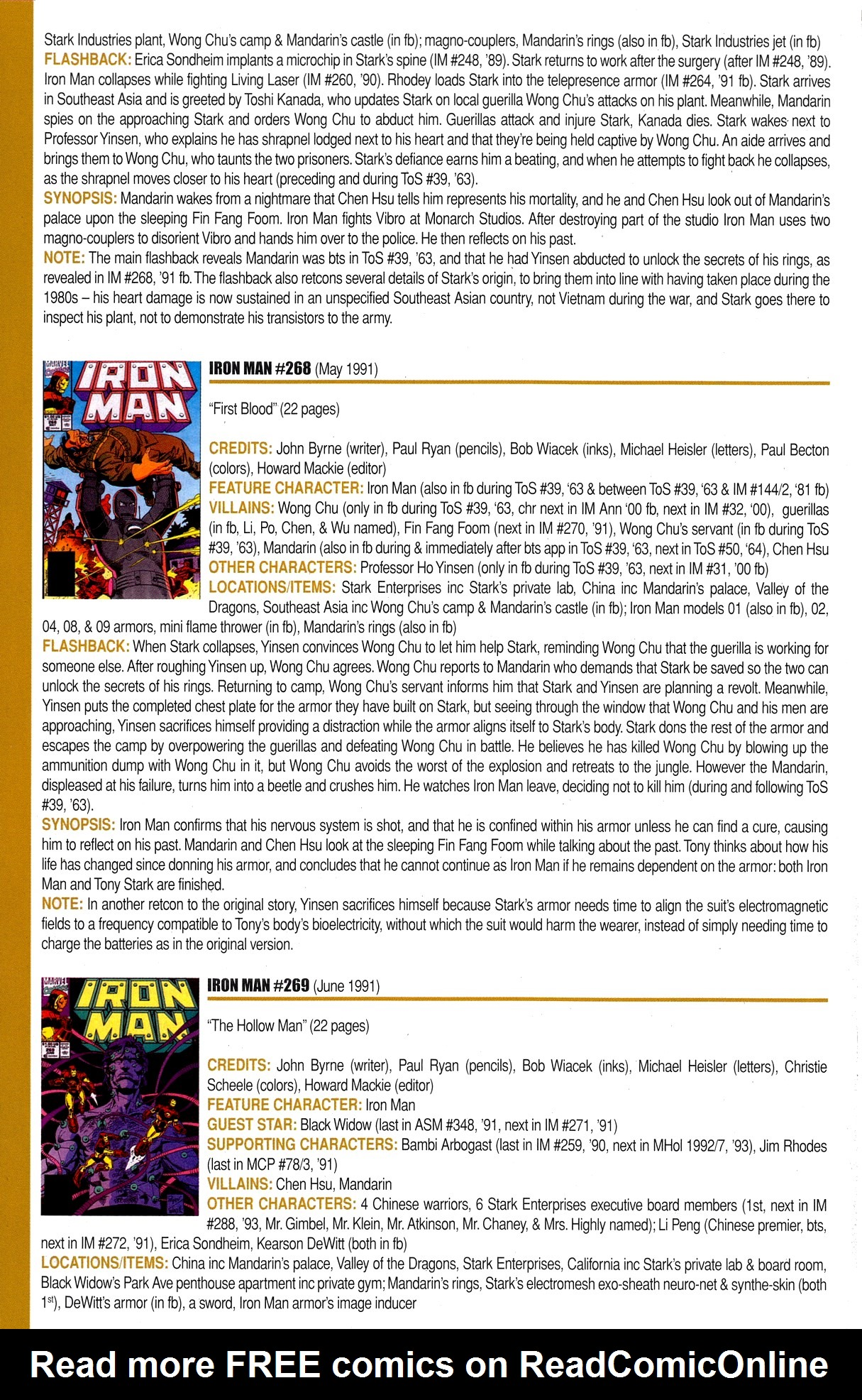 Read online Official Index to the Marvel Universe comic -  Issue #8 - 28