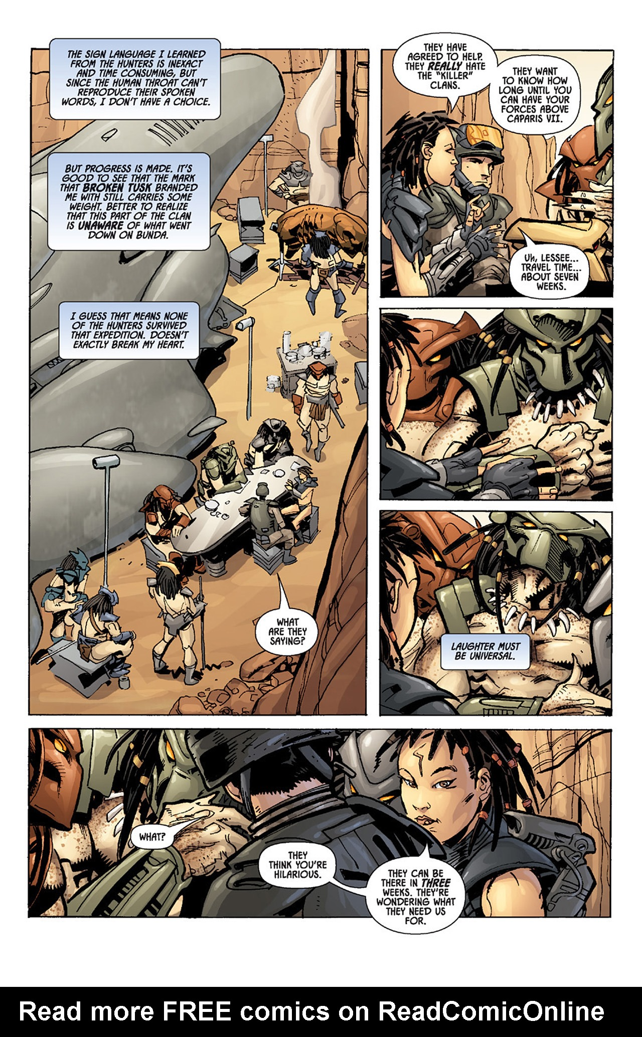 Read online Aliens vs. Predator: Three World War comic -  Issue #3 - 12