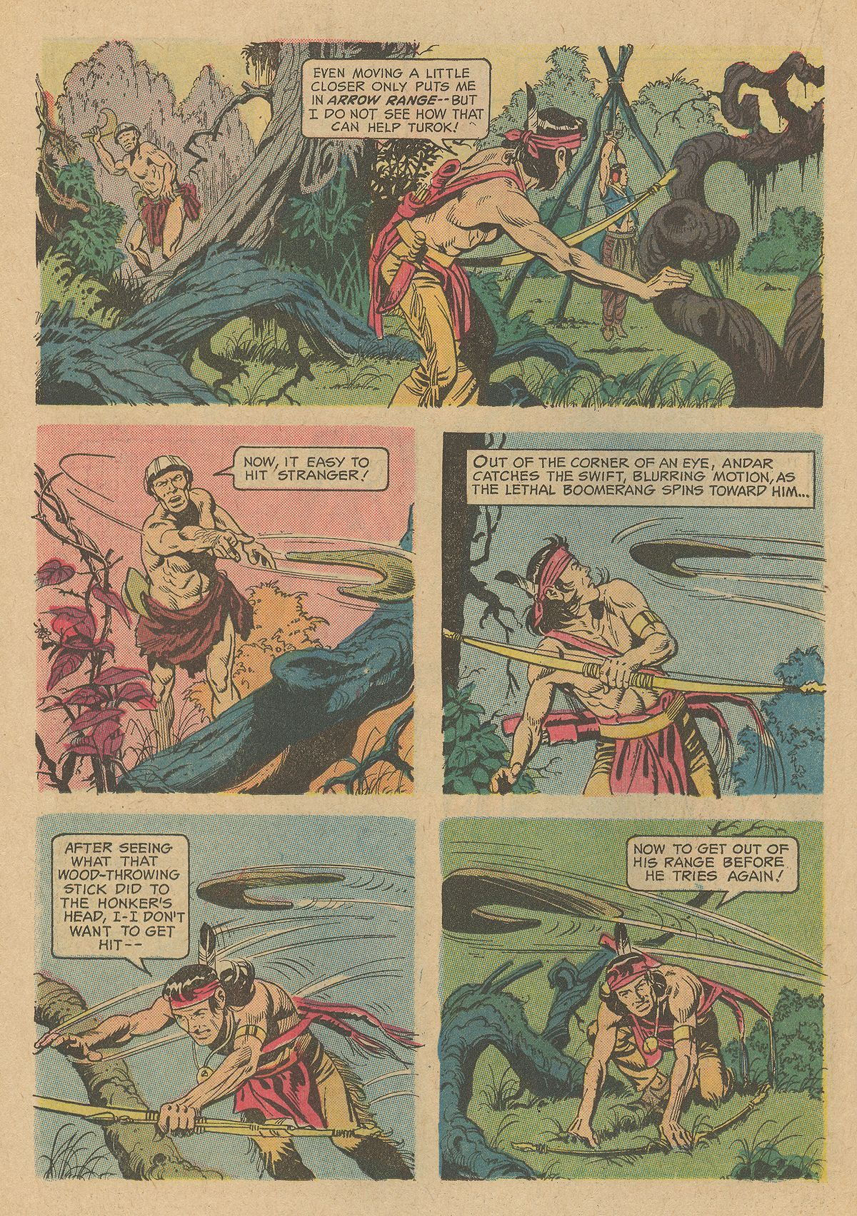 Read online Turok, Son of Stone comic -  Issue #80 - 22