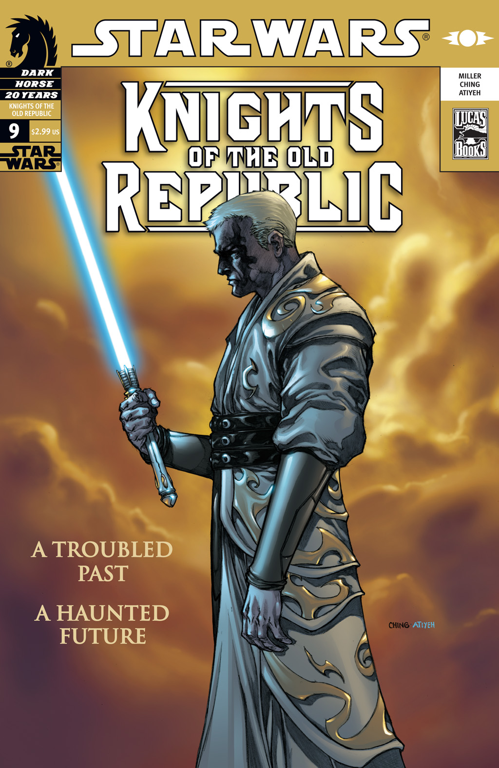 Star Wars: Knights Of The Old Republic issue 9 - Page 1