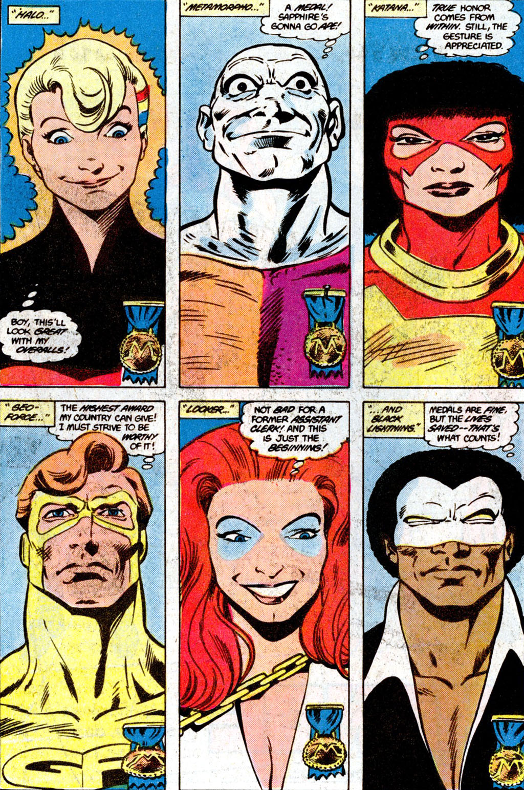 Read online Adventures of the Outsiders comic -  Issue #36 - 6