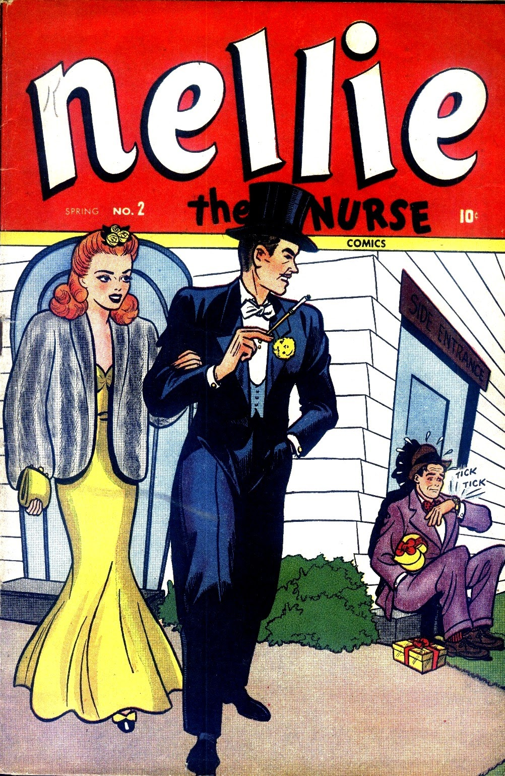 Read online Nellie The Nurse (1945) comic -  Issue #2 - 1