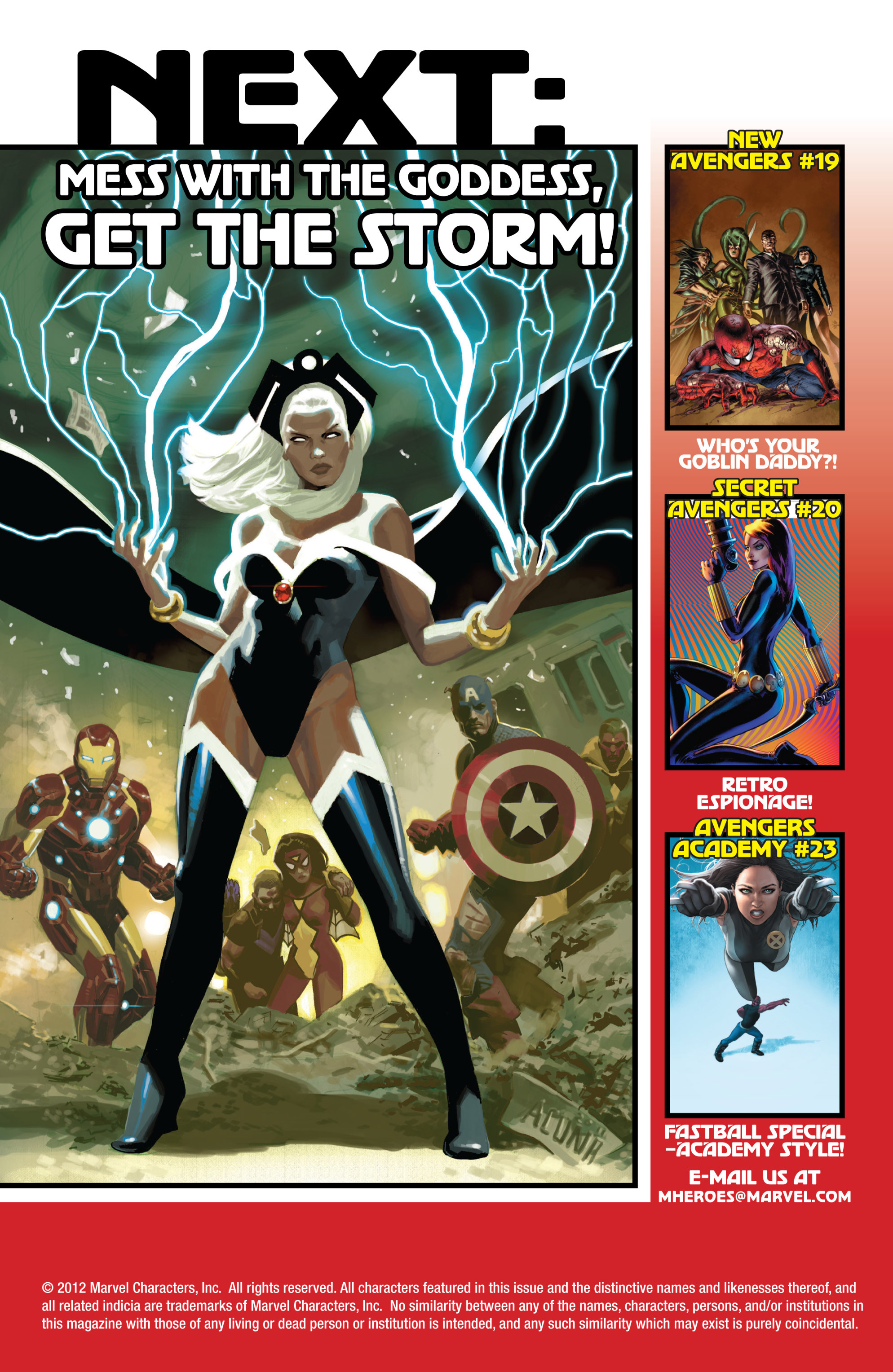 Read online Avengers (2010) comic -  Issue #20 - 22