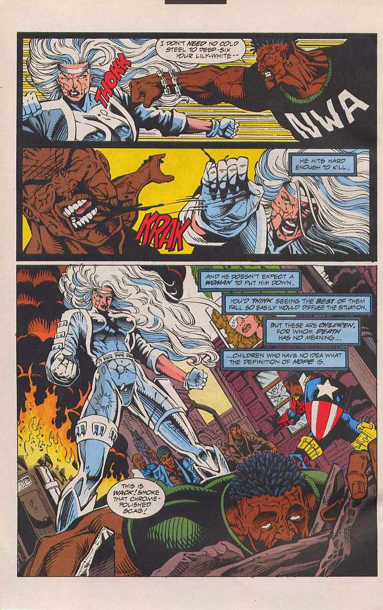 Read online Silver Sable and the Wild Pack comic -  Issue #21 - 3