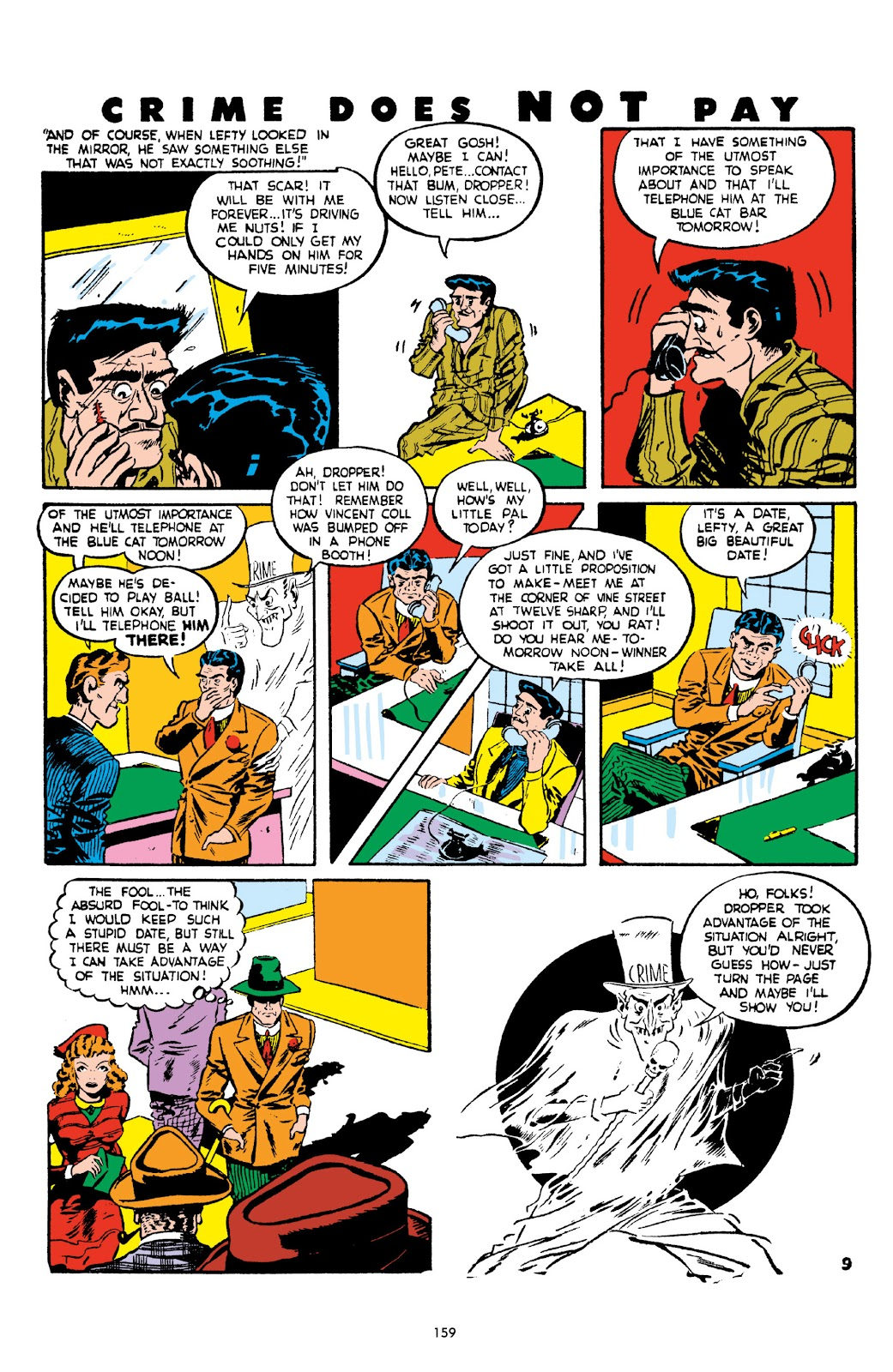 Read online Crime Does Not Pay Archives comic -  Issue # TPB 2 (Part 2) - 59