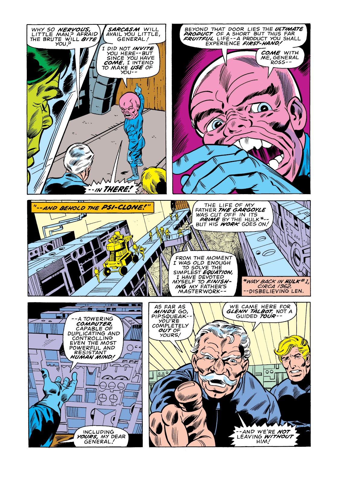 Read online Marvel Masterworks: The Incredible Hulk comic -  Issue # TPB 11 (Part 1) - 84