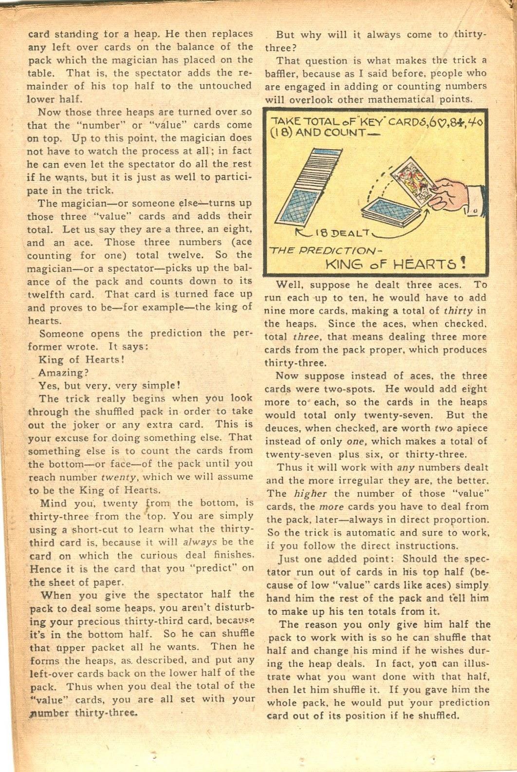 Read online Super-Magician Comics comic -  Issue #35 - 24